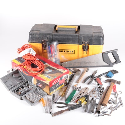 craftsman toolbox and tools - Craftsman Garden Decor