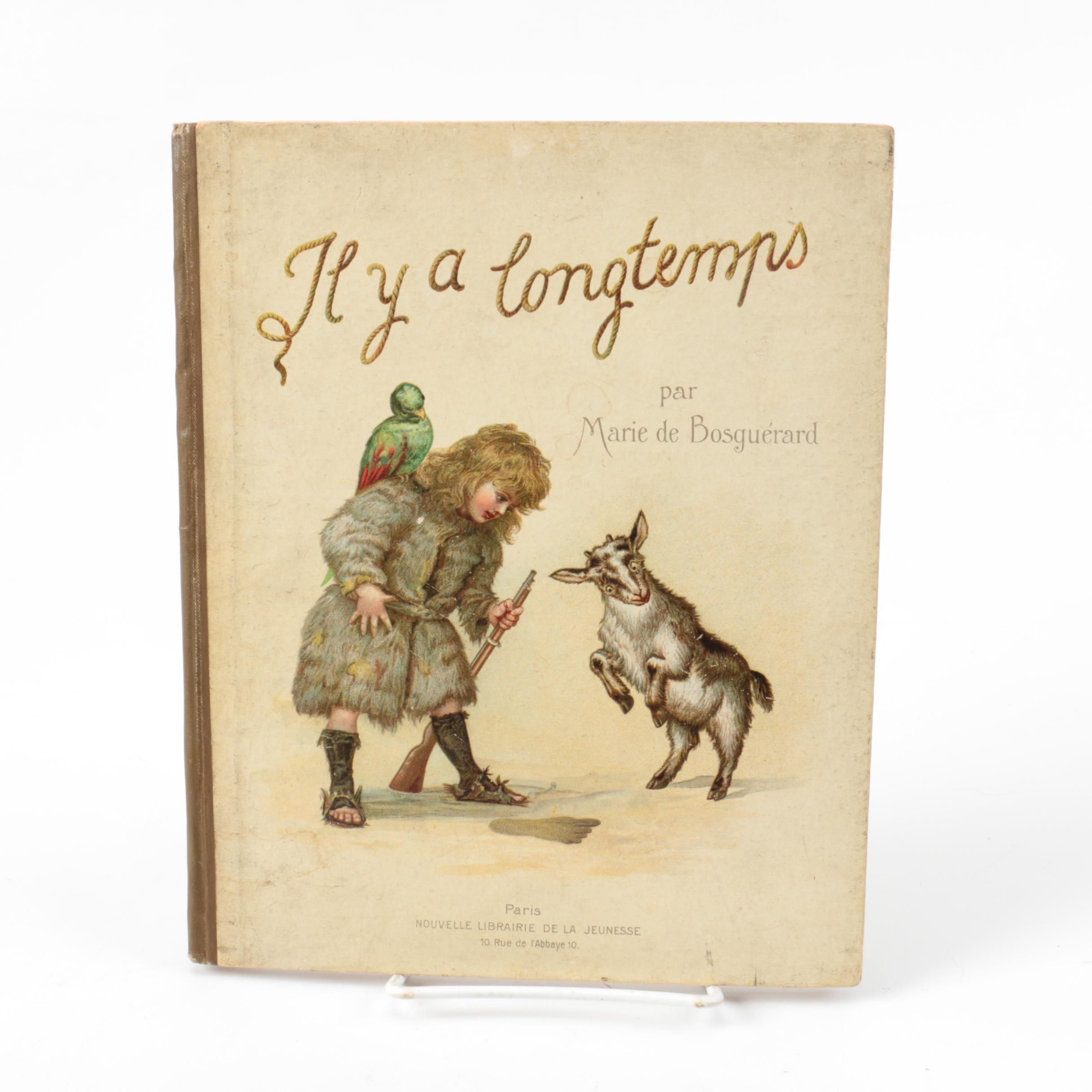 """Late 19th Century """"Il y a Longtemps"""" by Marie de Bosguérard"""