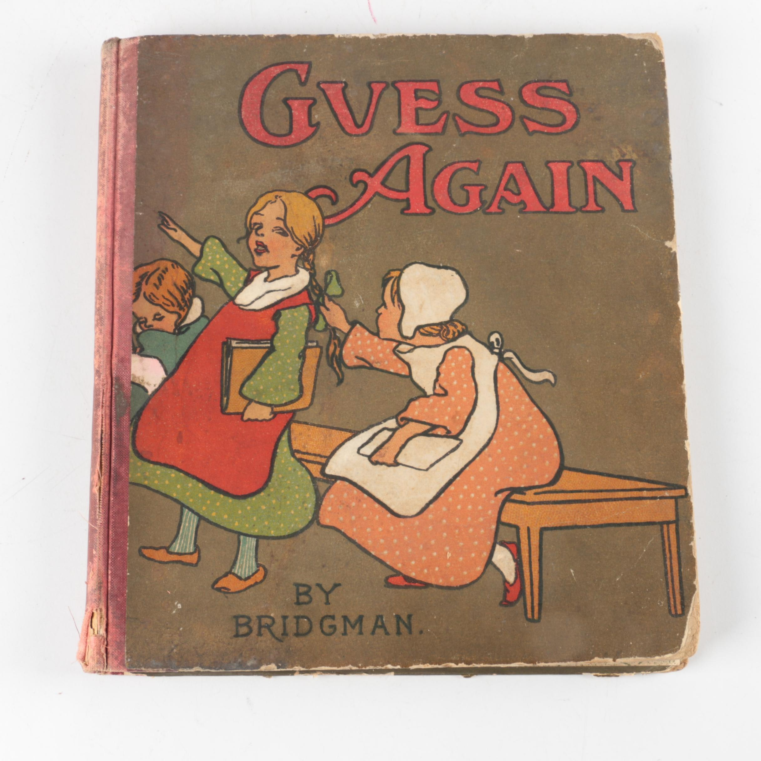 "1909 ""Guess Again"" by L. J. Birdgman"