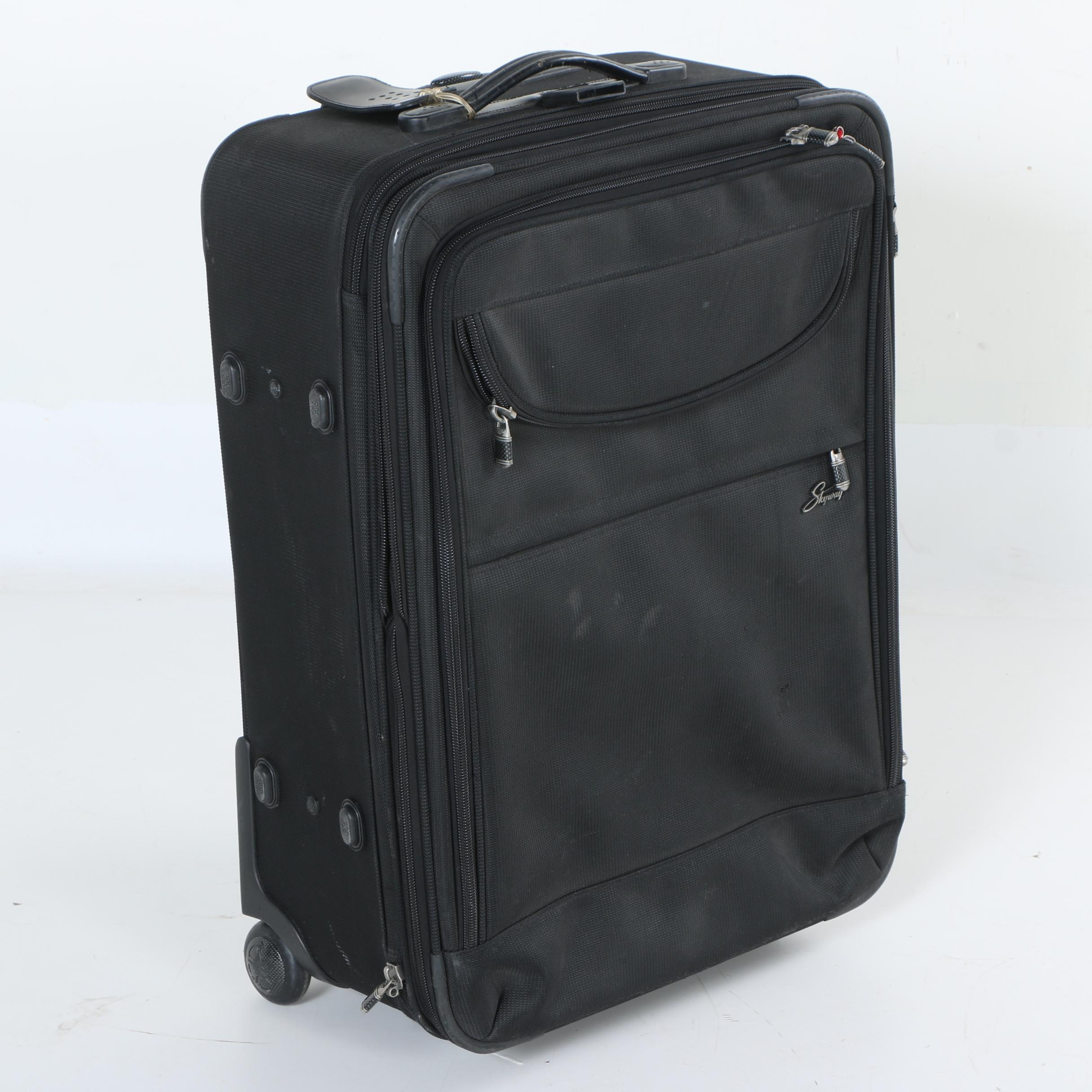 Black Suitcase by Skyway