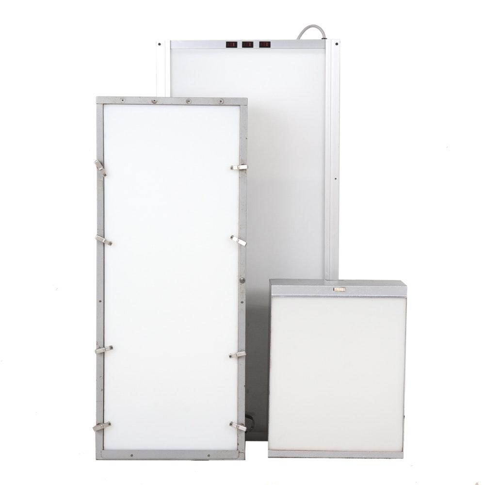X-Ray Illuminators by AMS and S. & S. X-Ray Products