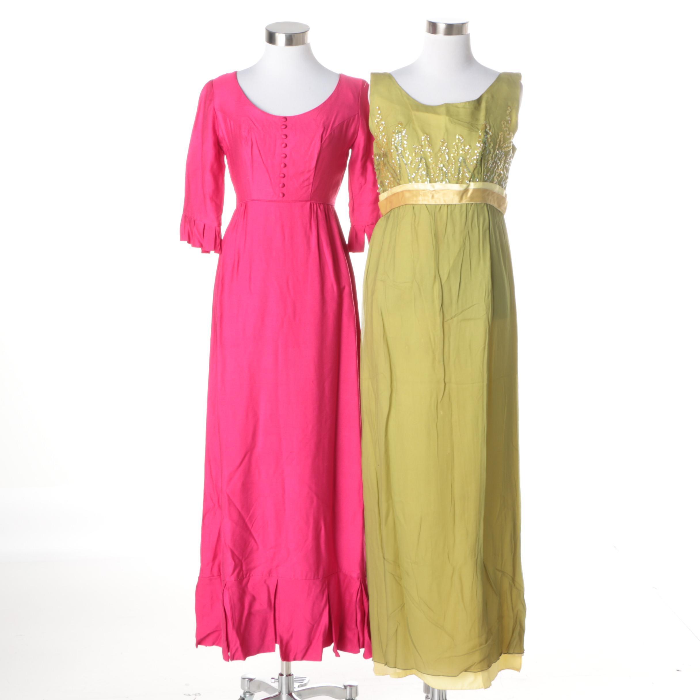 Circa 1960s Vintage Dresses
