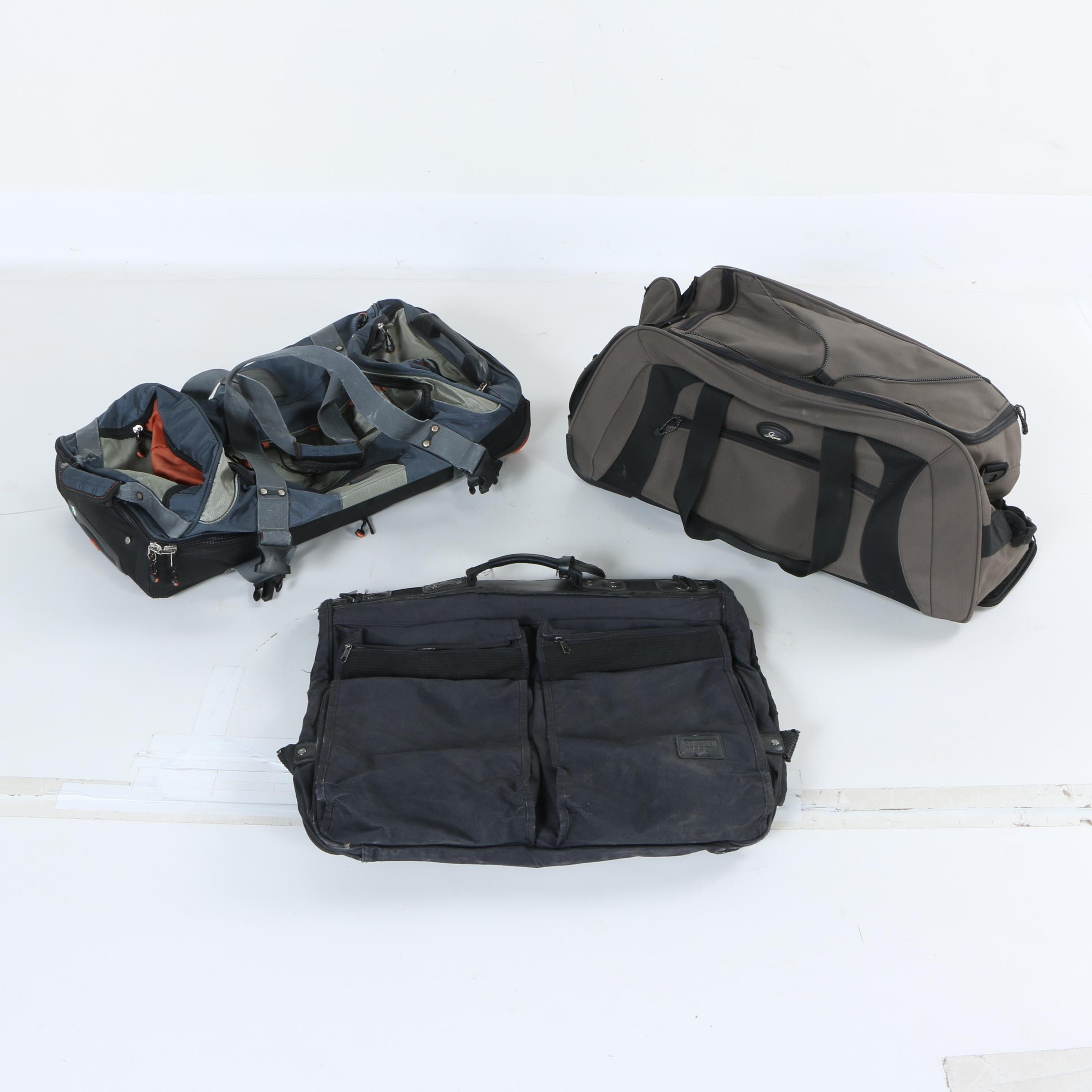 Assorted Duffel Bags