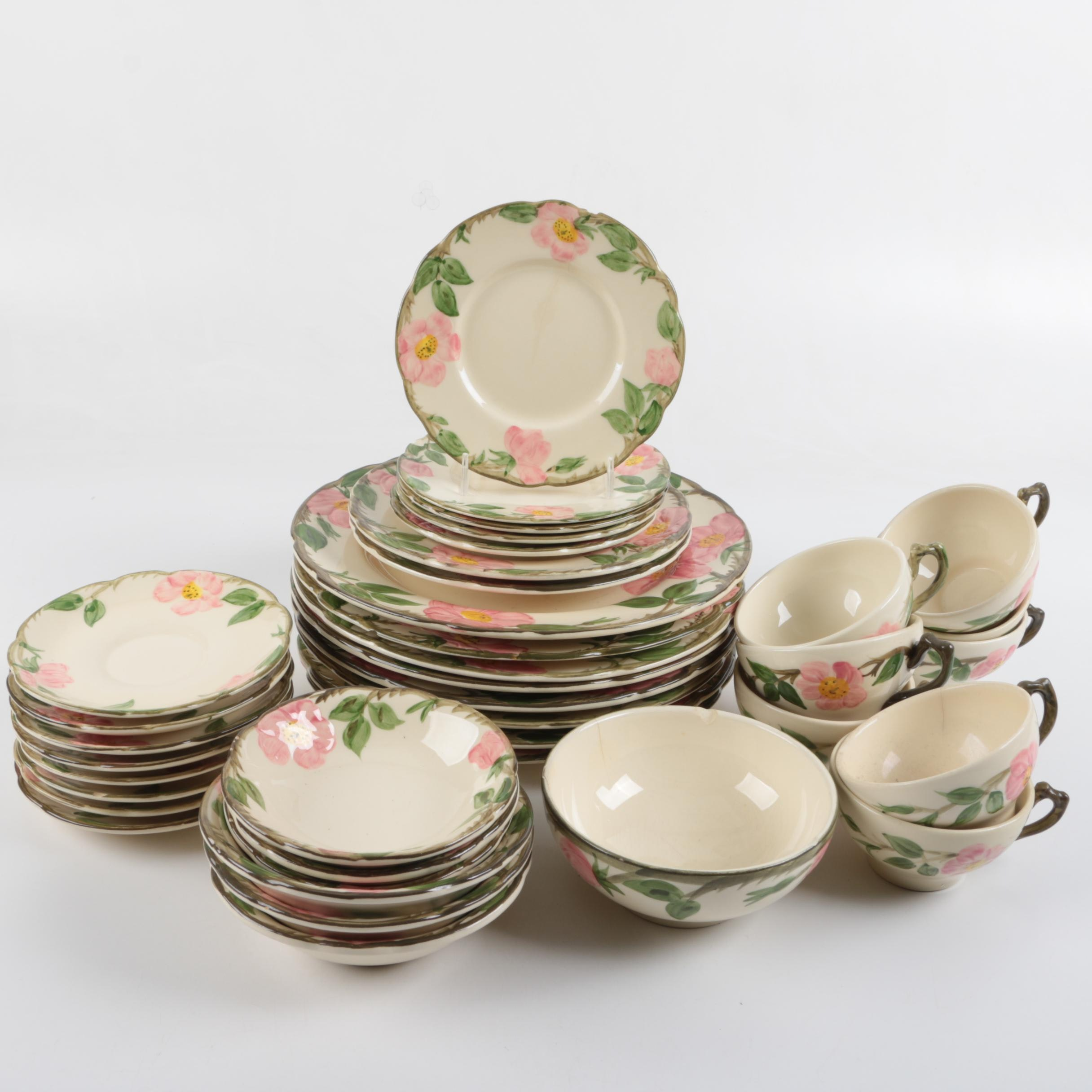 "Franciscan ""Desert Rose"" Tableware"