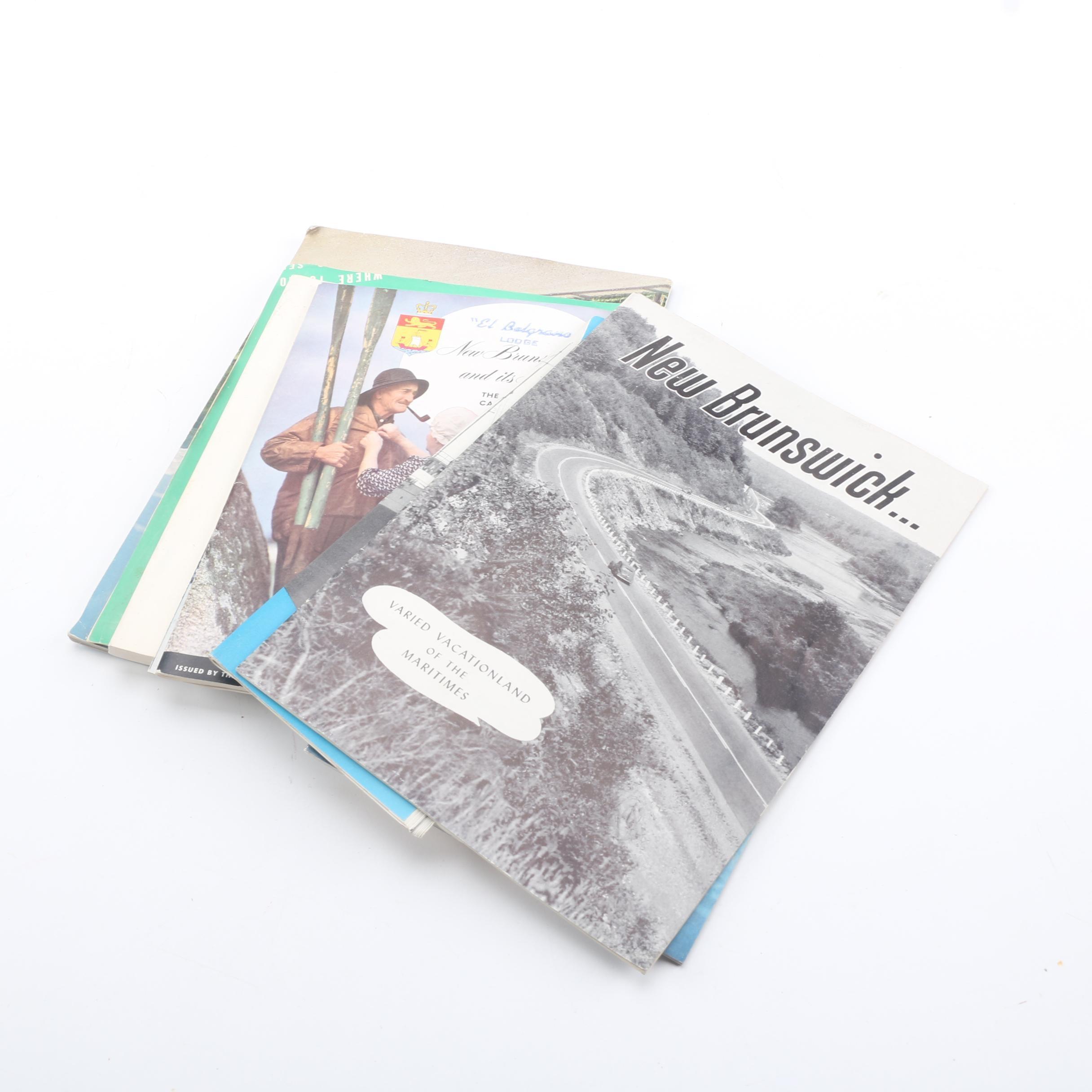 New Brunswick, Canada Booklets and Ephemera