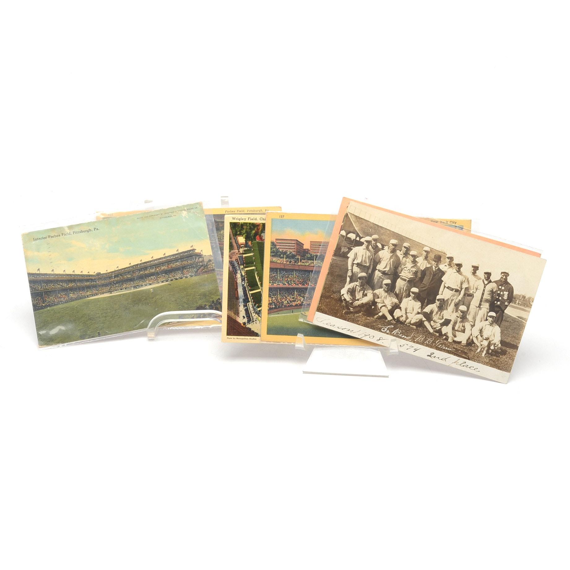 Antique and Vintage Baseball Postcards
