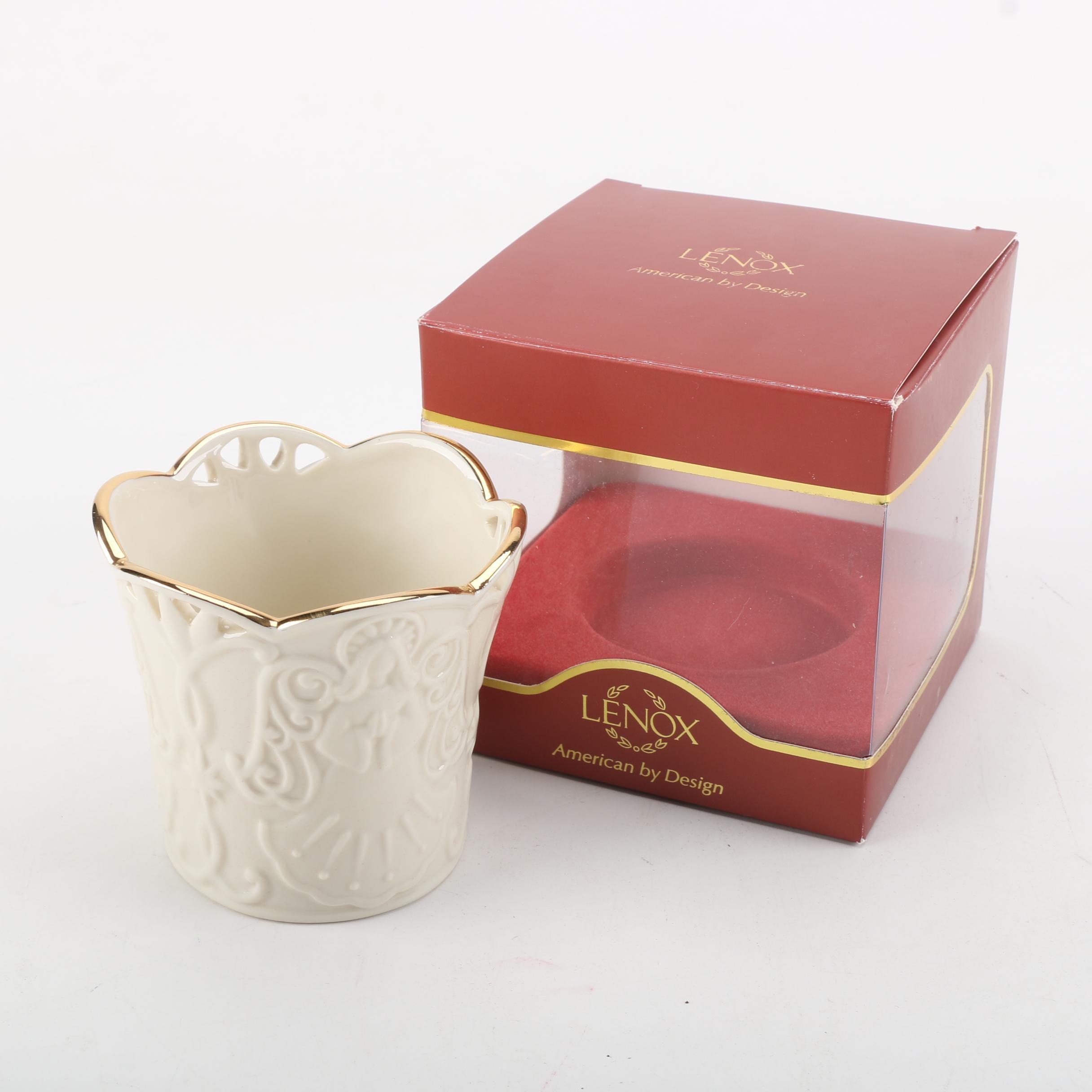 Lenox Angel Candle Holder