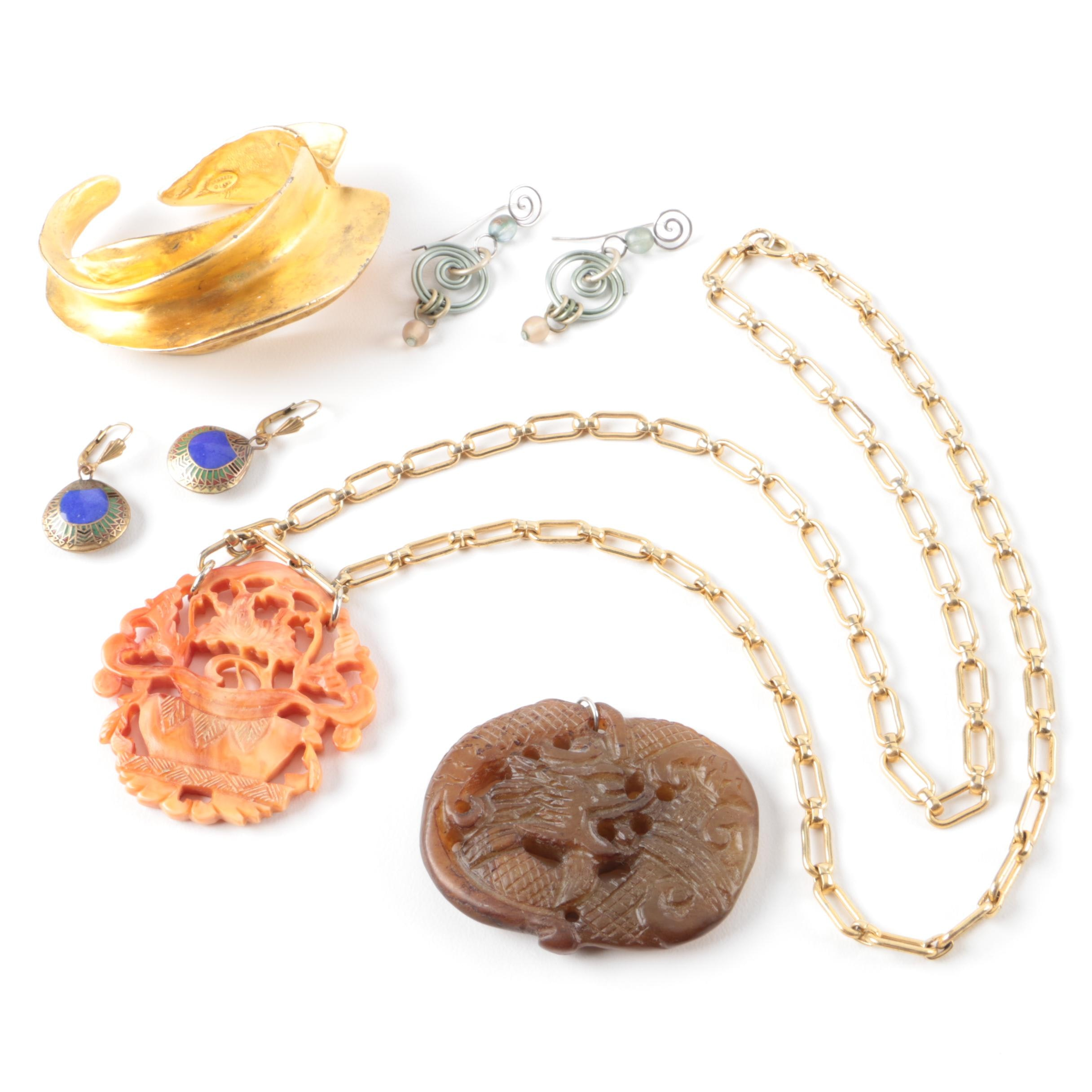 Jewelry Assortment Including Kenneth Jay Lane