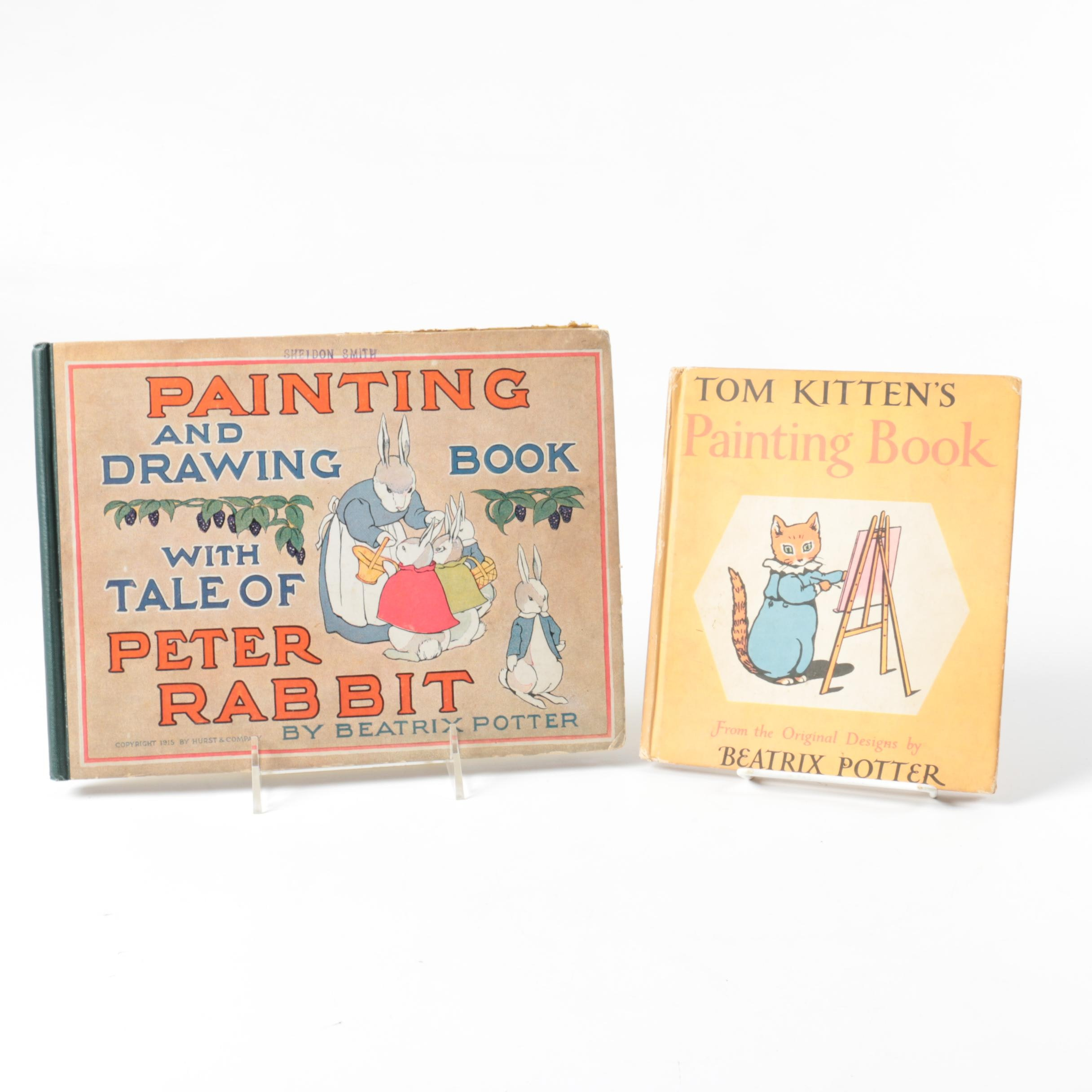 Antique Beatrix Potter Children's Books