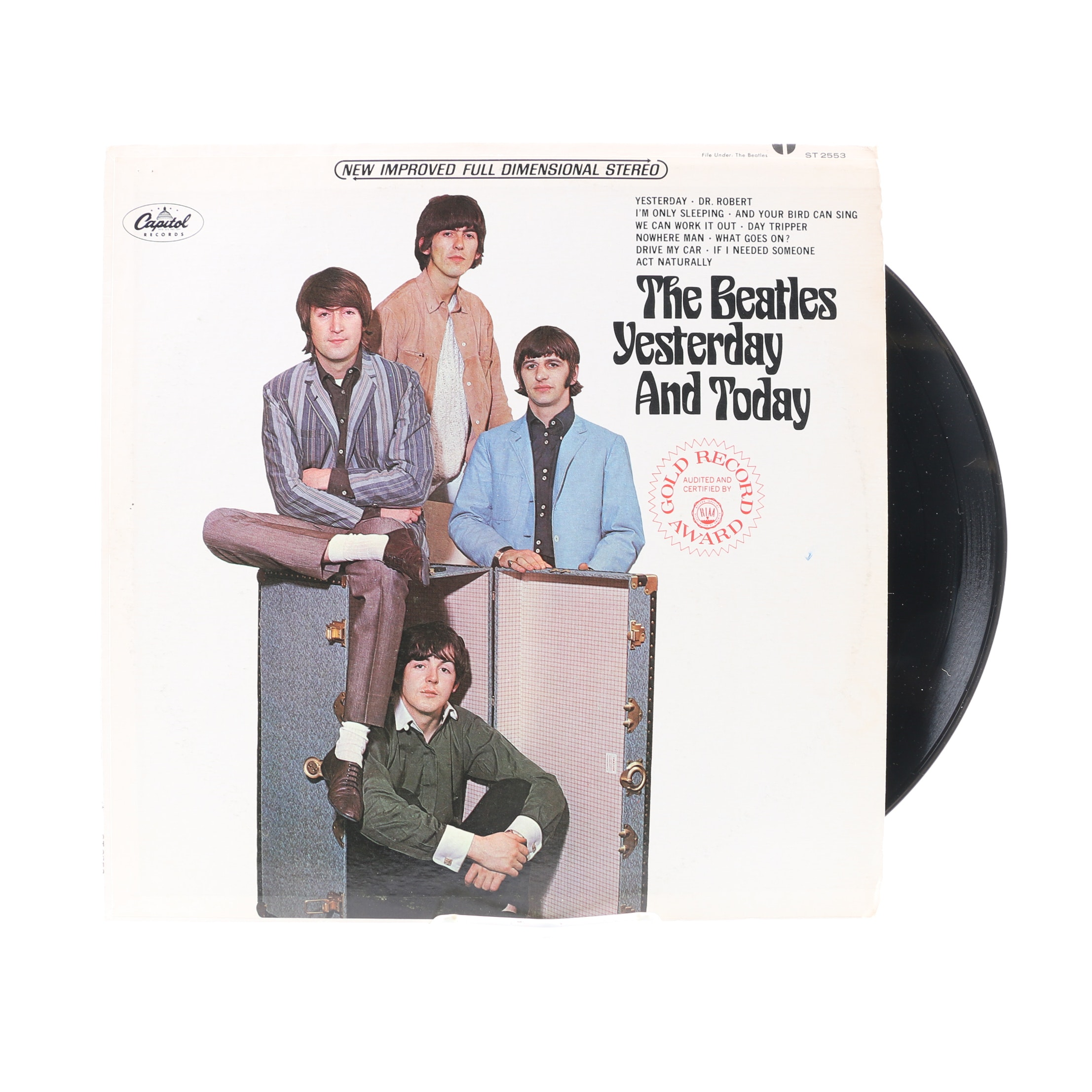 "The Beatles ""Yesterday And Today"" 1966 US Pressing LP"