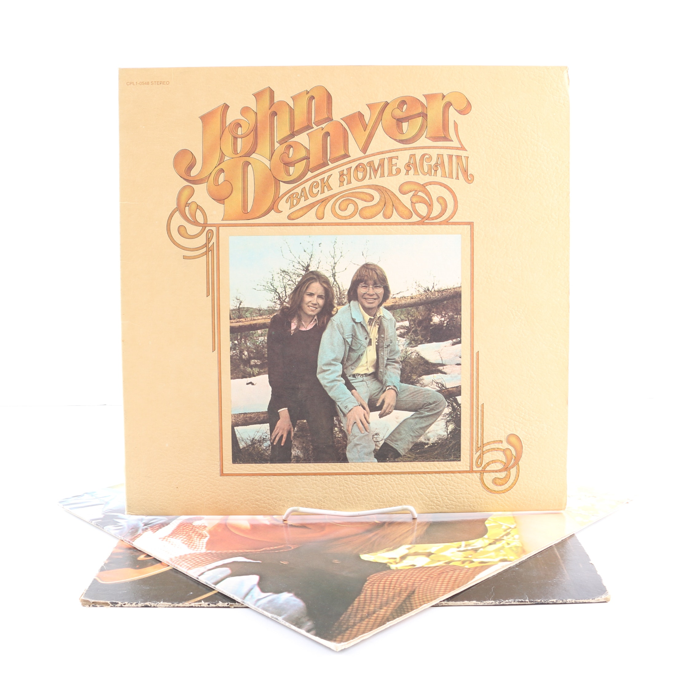 "John Denver LPs Including ""Back Home Again"" and ""Poems, Prayers, & Promises"""
