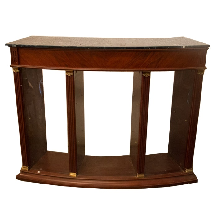 Federal Style Mahogany Finished Bar by Baroque