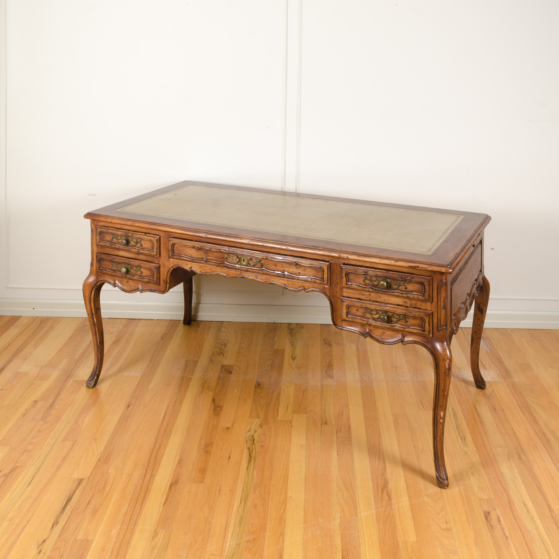 Vintage Louis XV Style Double Sided Desk by John Widdicomb