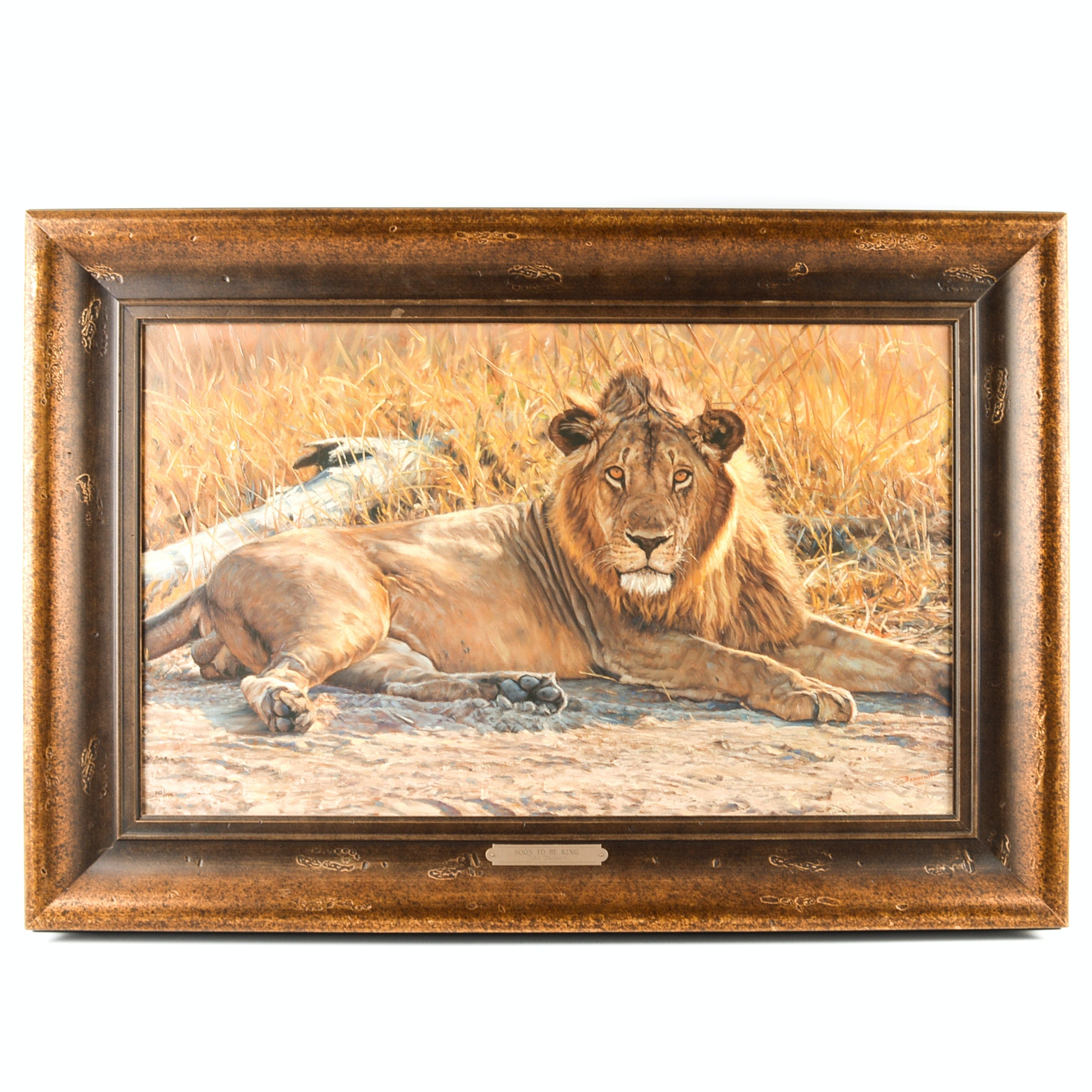 "John Banovich Limited Edition Giclee on Canvas ""Soon To Be King"""