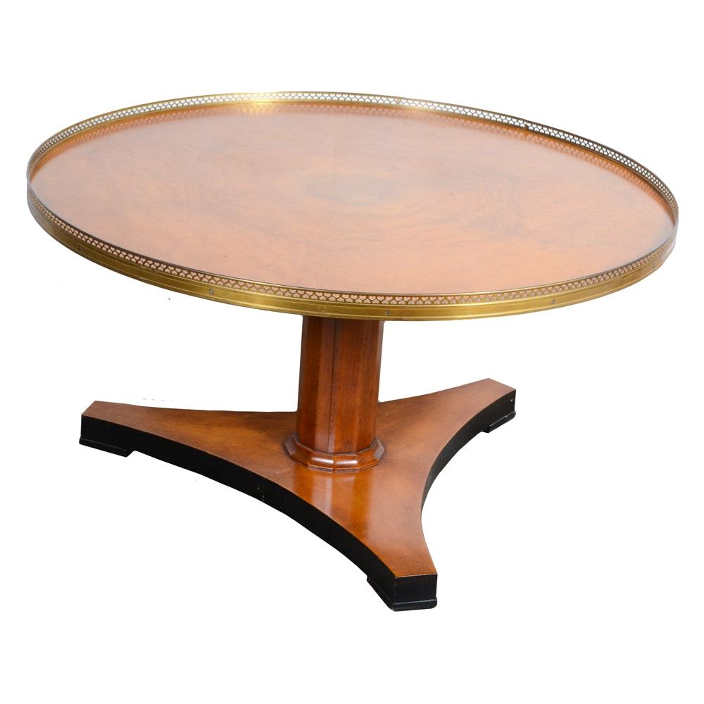 Regency Style Maple Pedestal Table