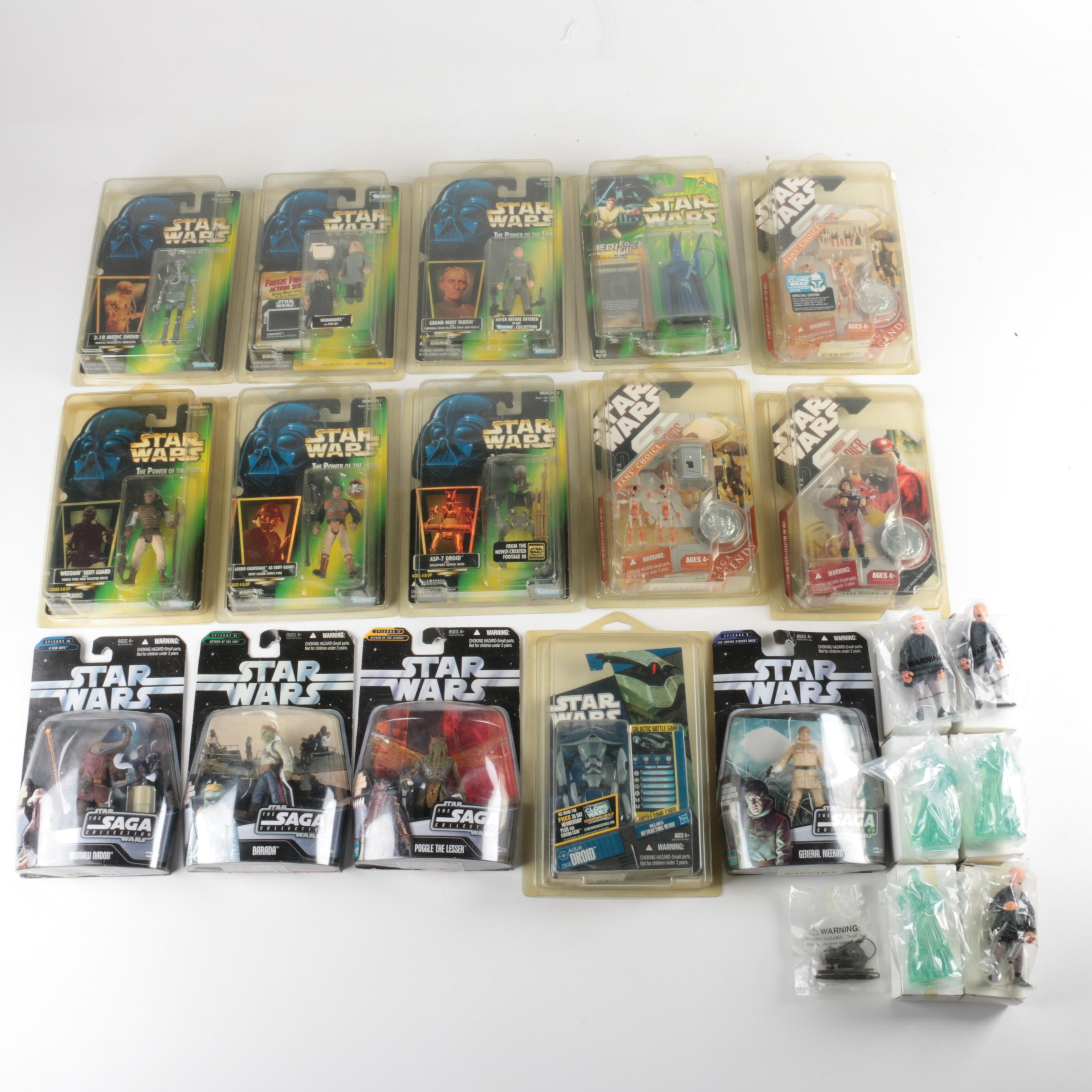 "1990s-2000s ""Star Wars"" Action Figures"