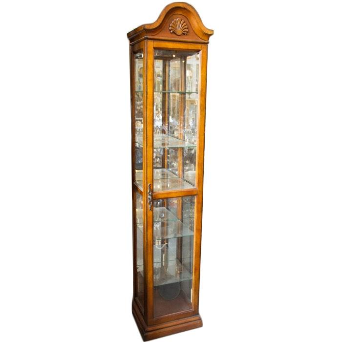 Tall Curio Cabinet