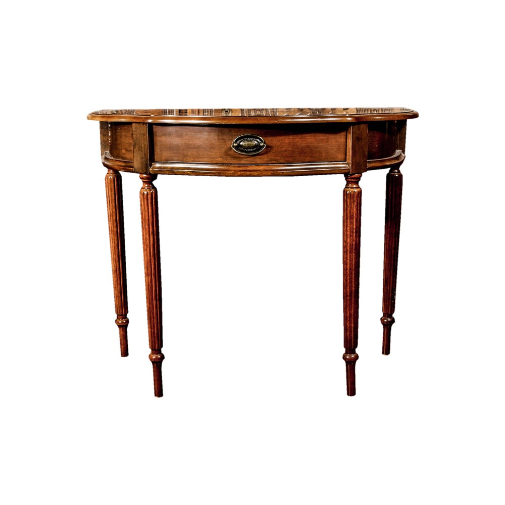 Neoclassical Style Accent Table