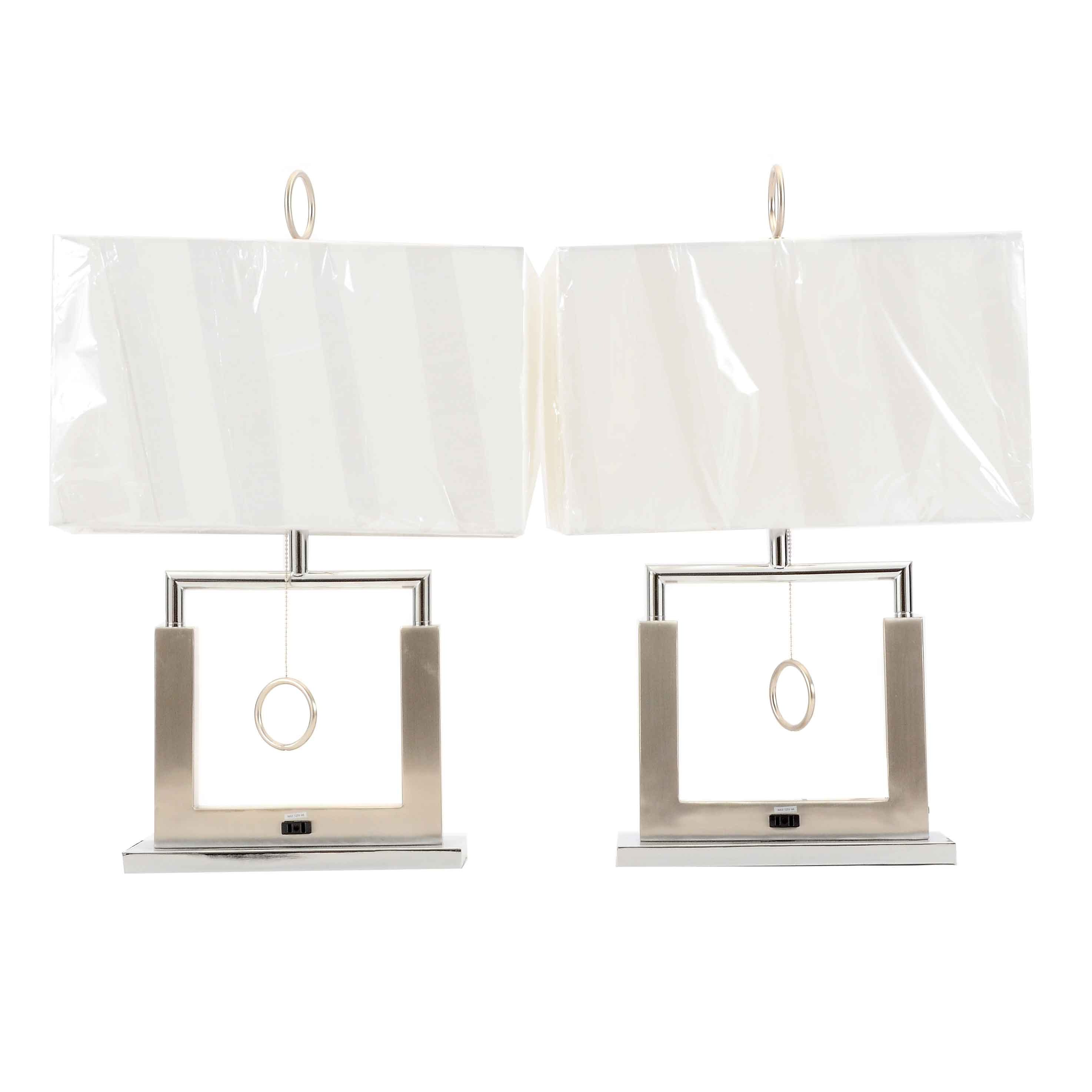 Pairing of Modern Style Lamps