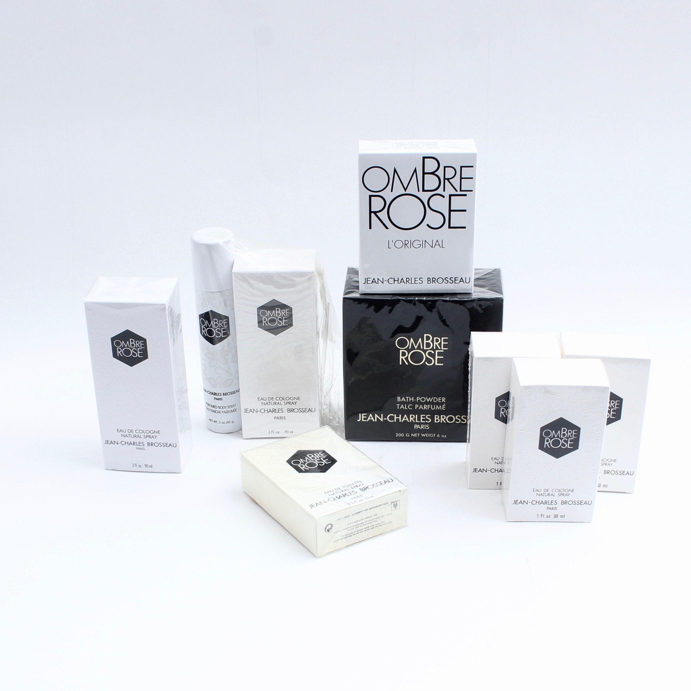 Jean-Charles Brosseau Ombre Rose Scent Collection