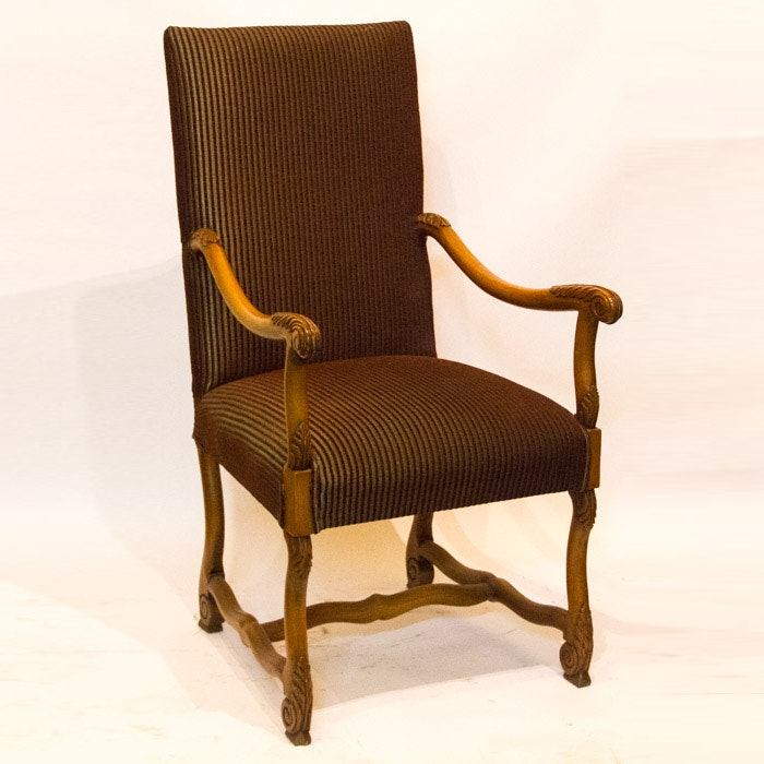 Vintage Renaissance Style Armchair