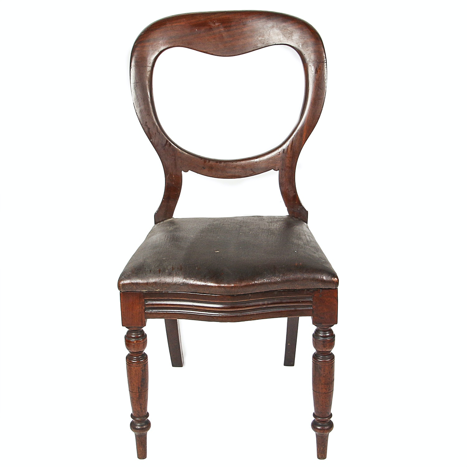 Antique Victorian Style Accent Chair