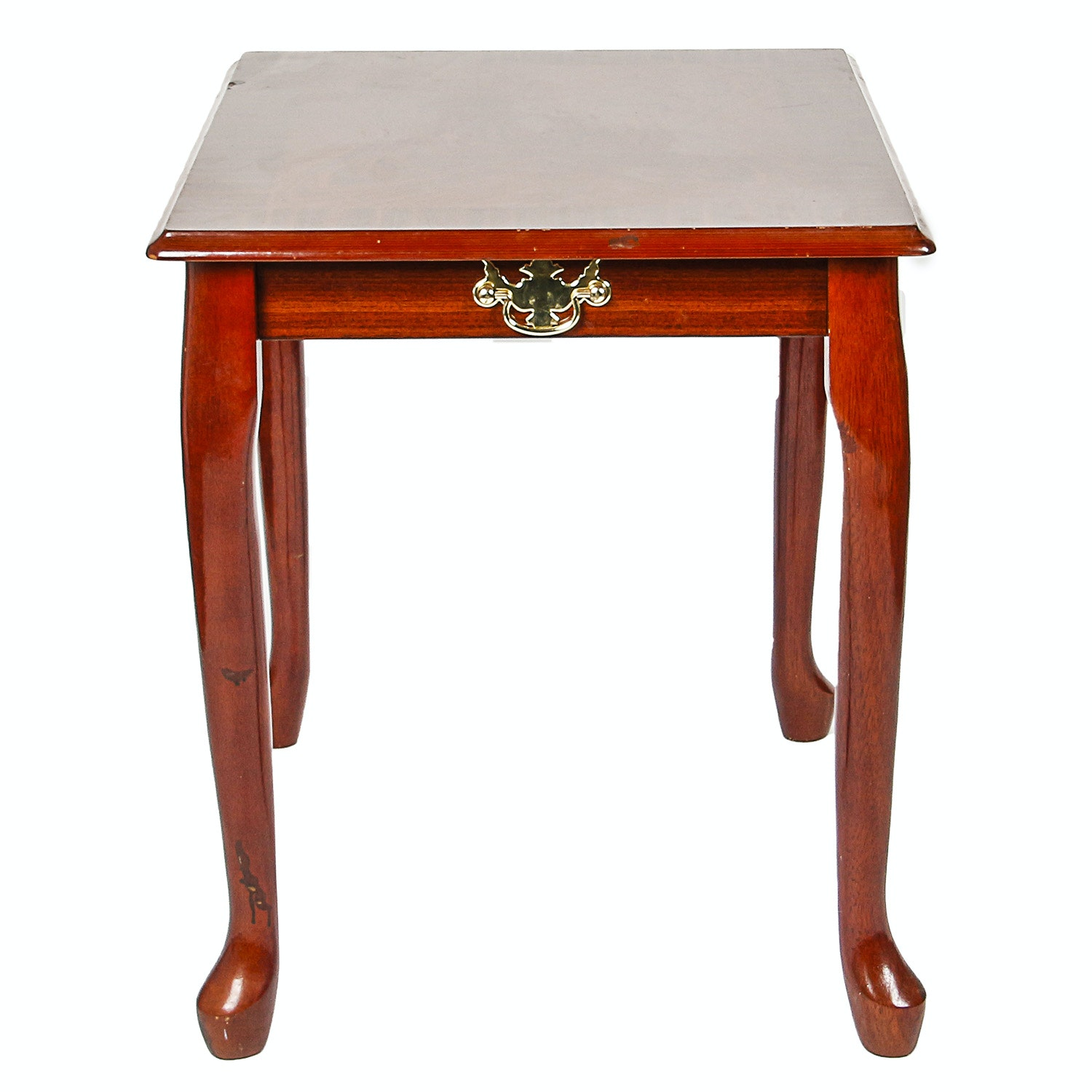 Vintage Chippendale Style Side Table