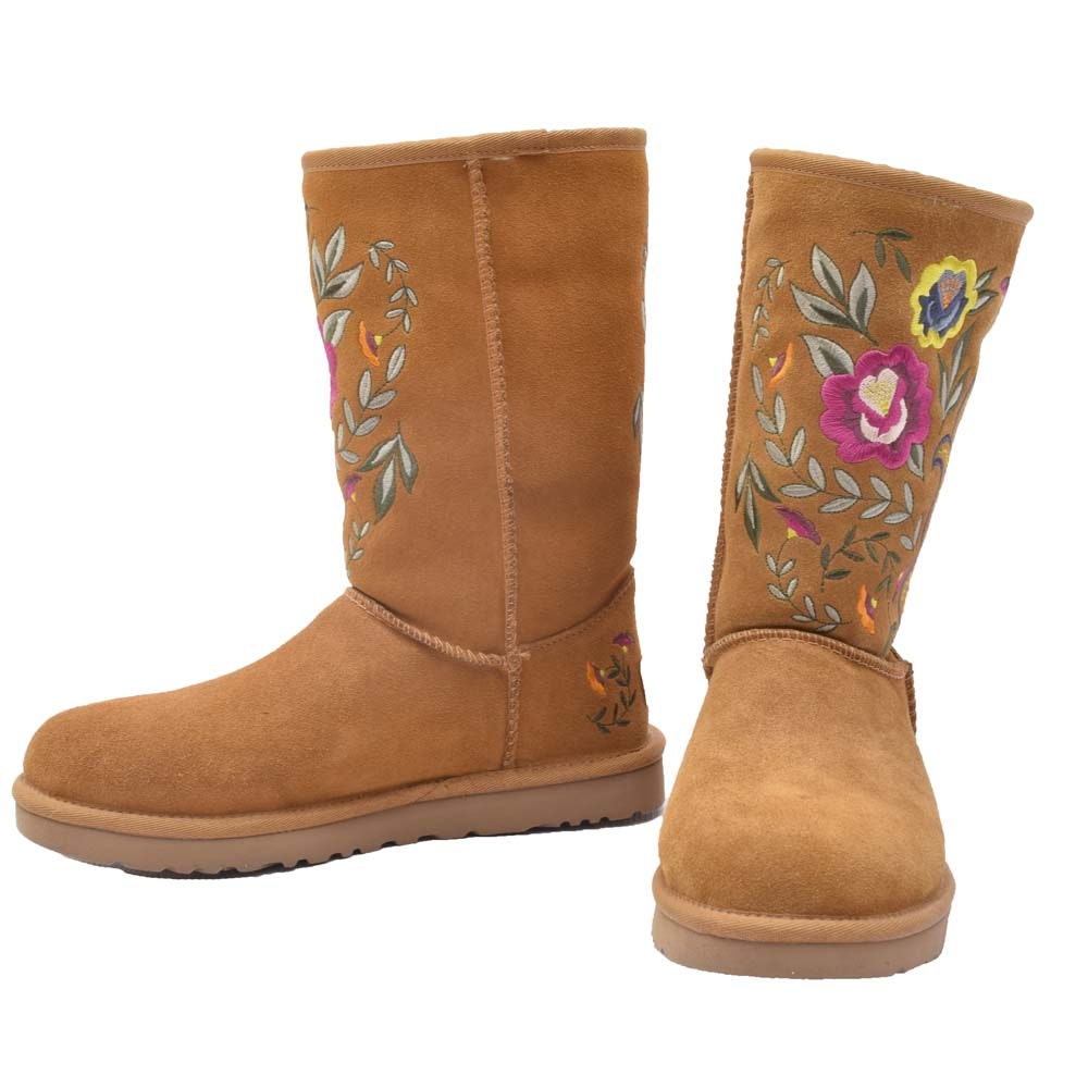 UGG Australia Juliette Embroidered Boots