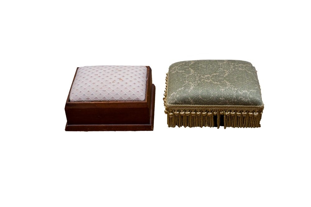 Pair of Footstools