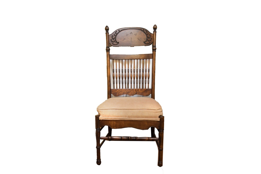 Antique Victorian Spindle Back Chair