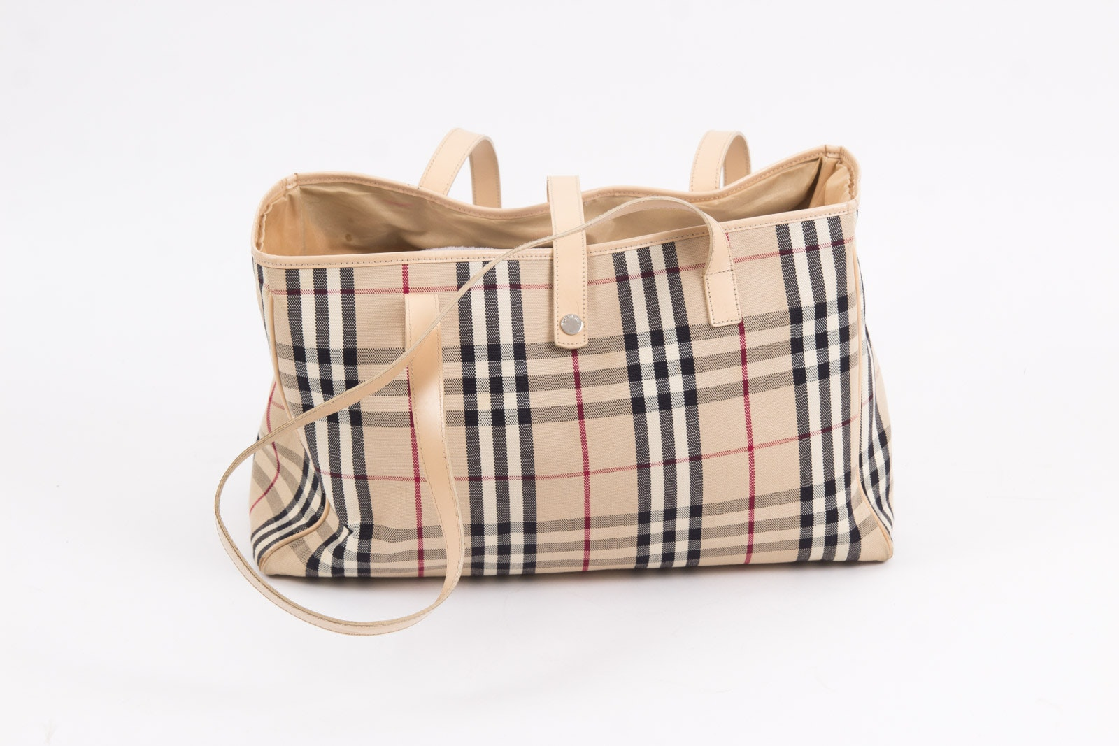 Burberry London Nova Check Tote Bag