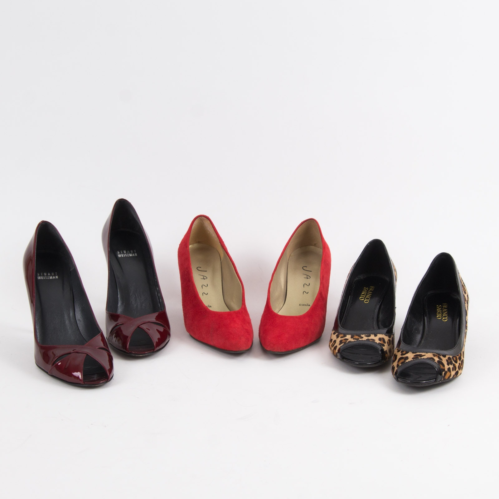 Three Pairs of Women's High Heels