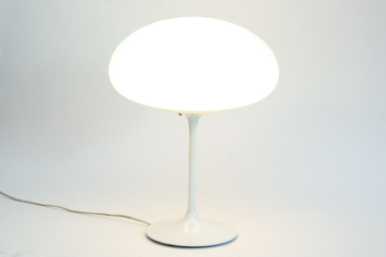 "Mid Century Modern ""Stemlite"" Mushroom Lamp by Bill Curry for Design Line"