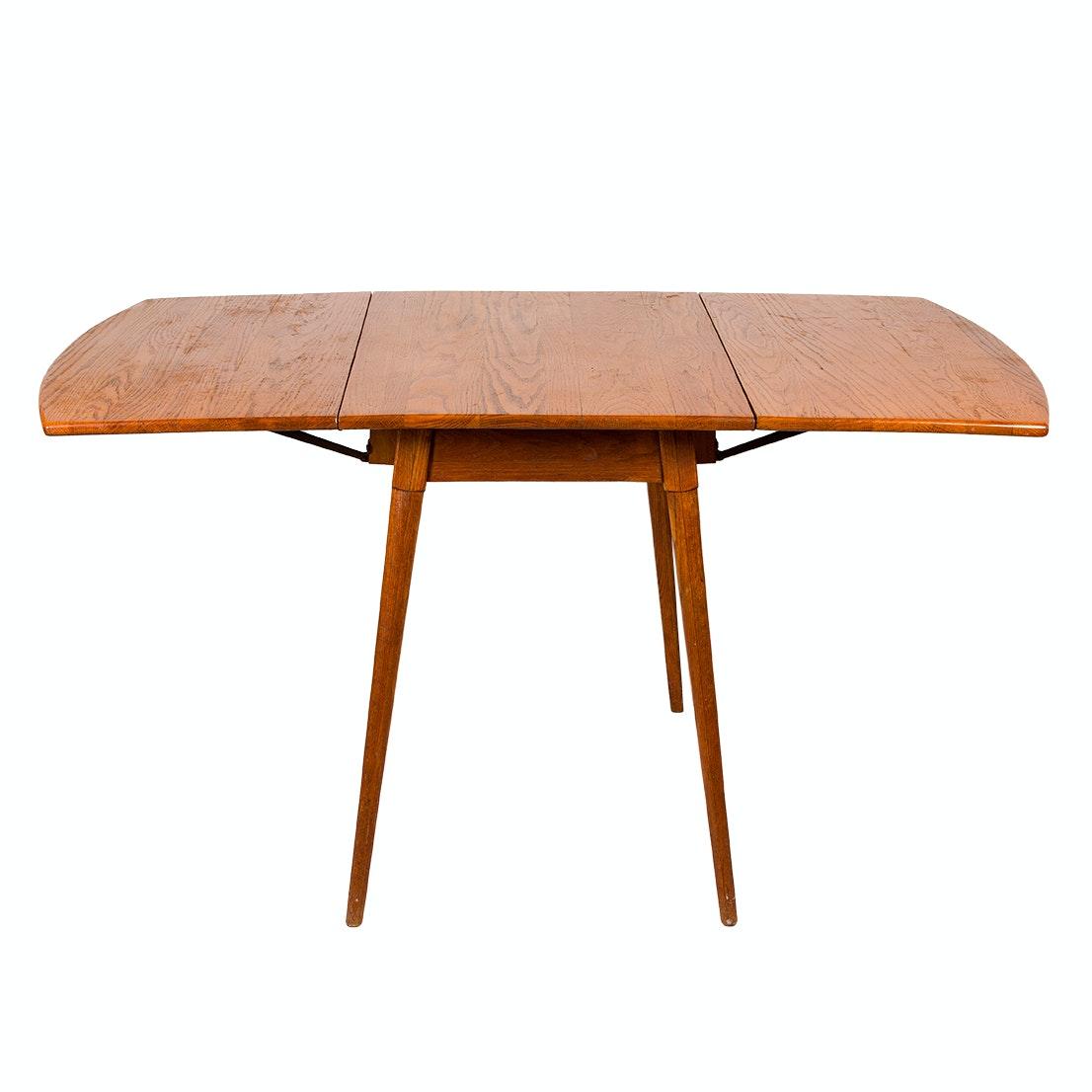 Old Hickory Drop Leaf Oak Table