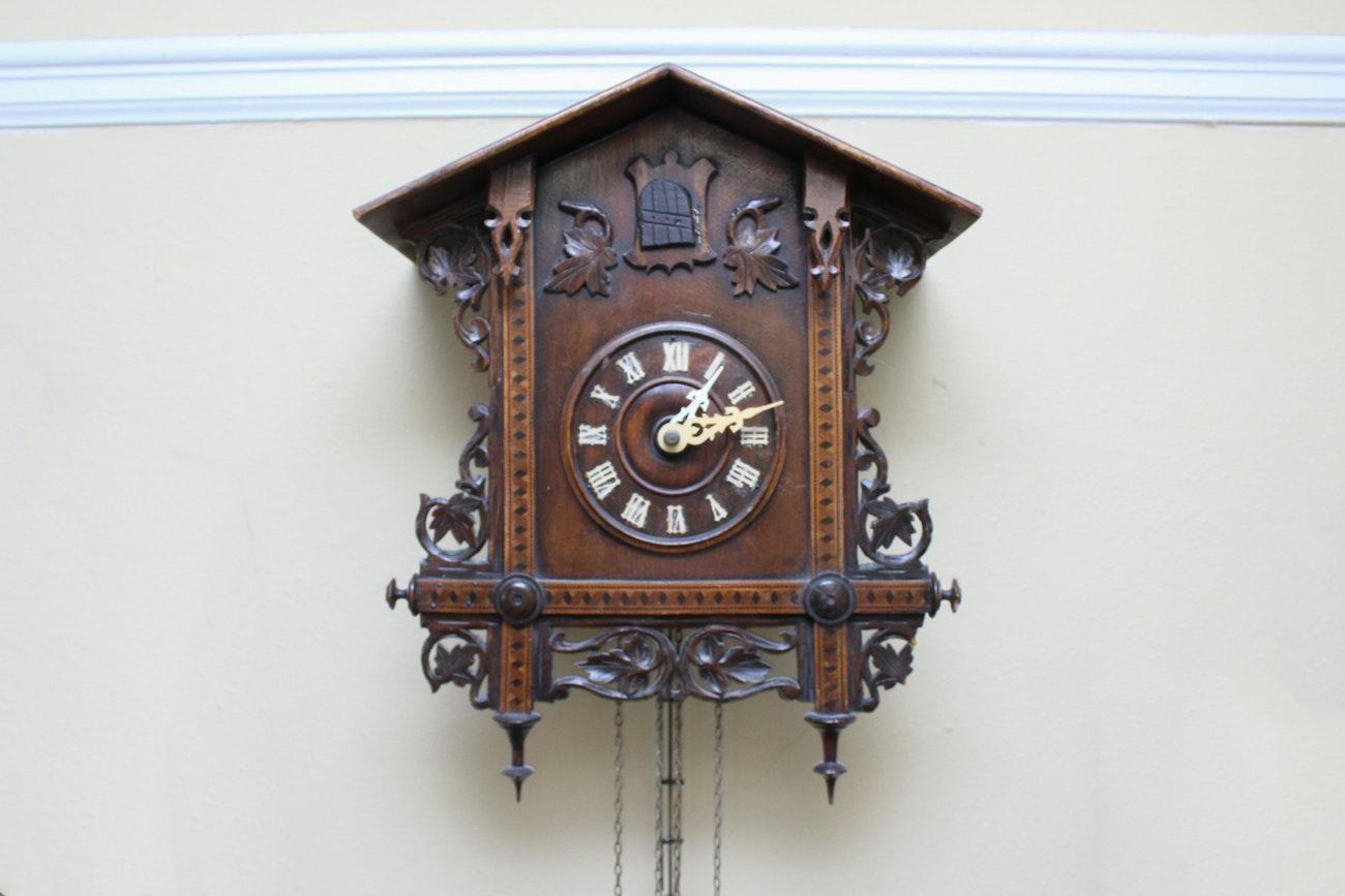 Victorian Twenty-four Hour Cuckoo Clock
