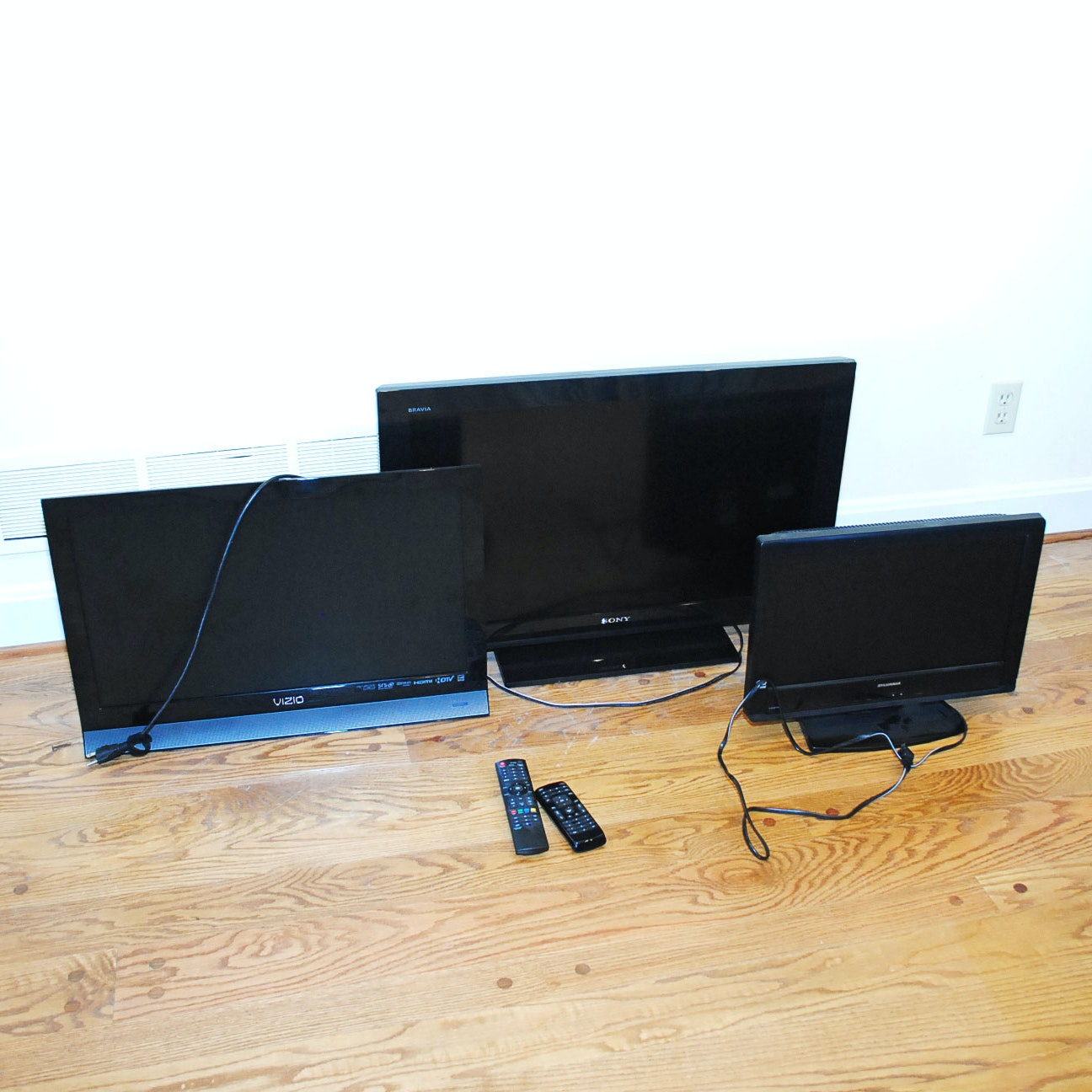 Vizio, Sylvania and Sony Flat Screen Televisions