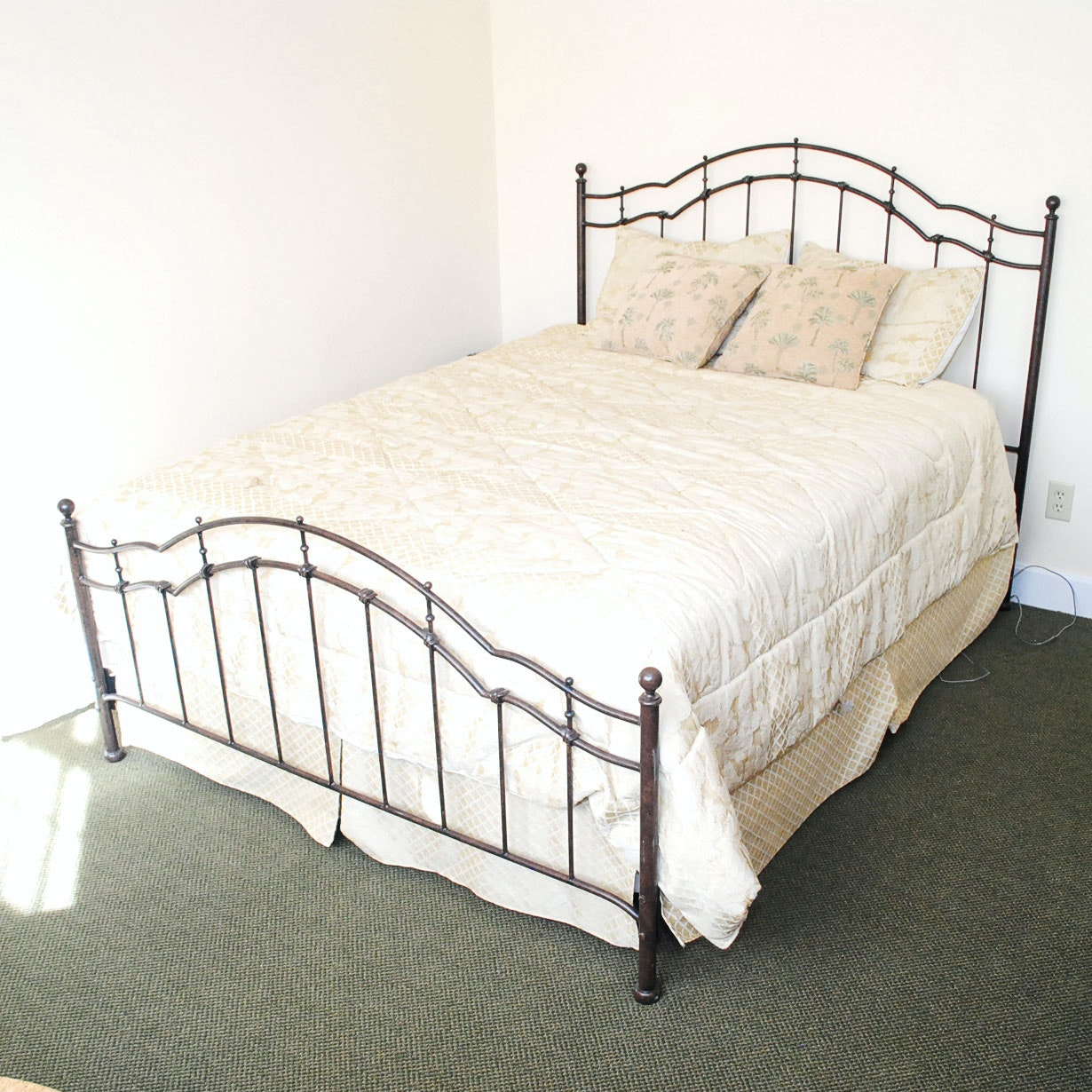 Metal Queen Sized Bed