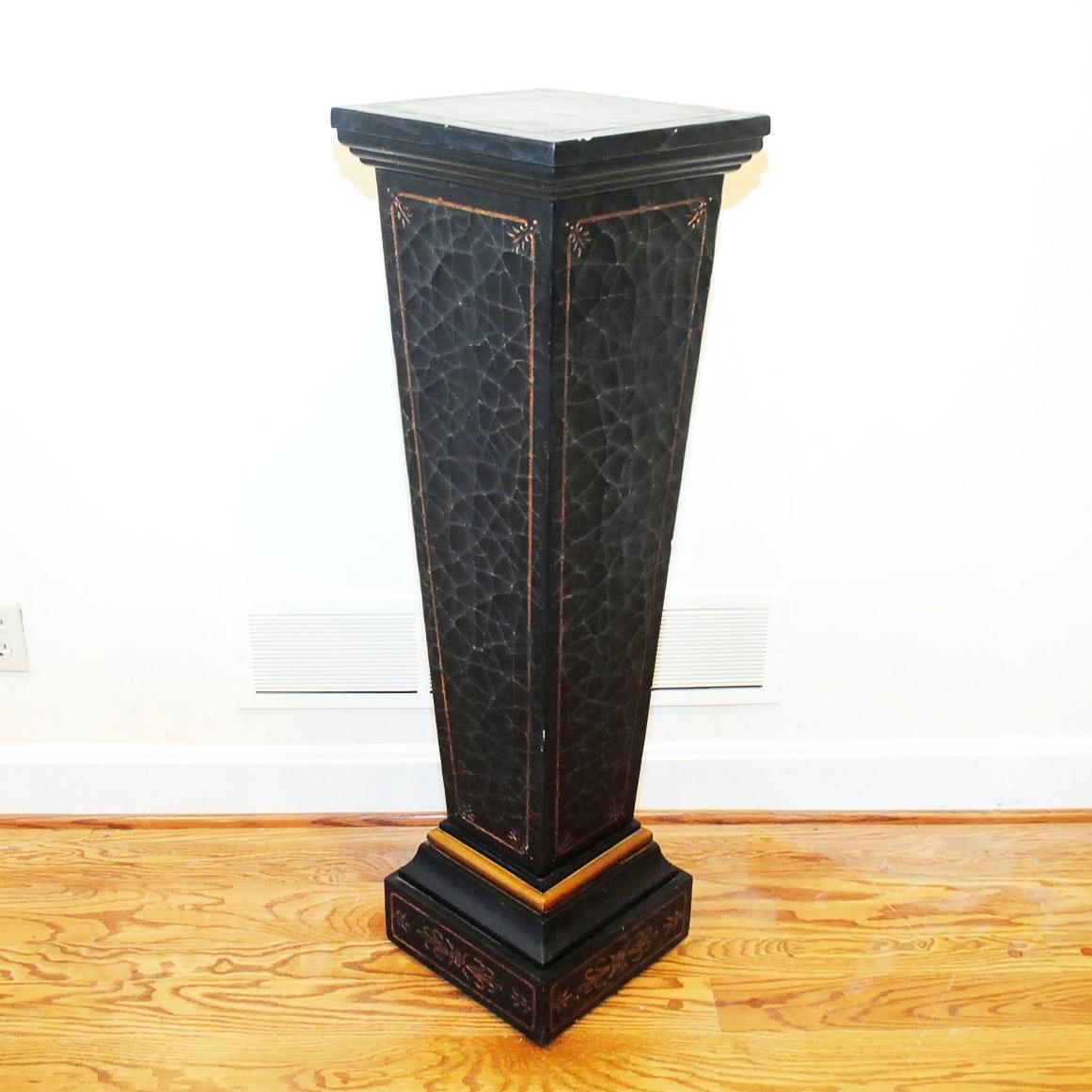 Ornate Decorative Pedestal Plant Stand