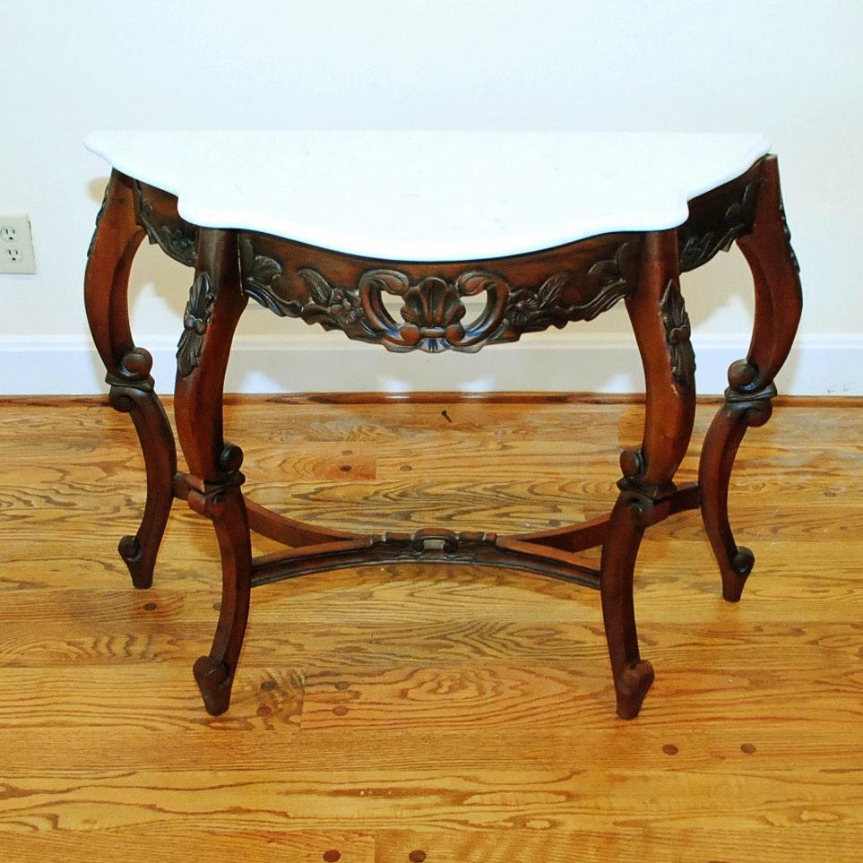 Renaissance Revival Style Console Table