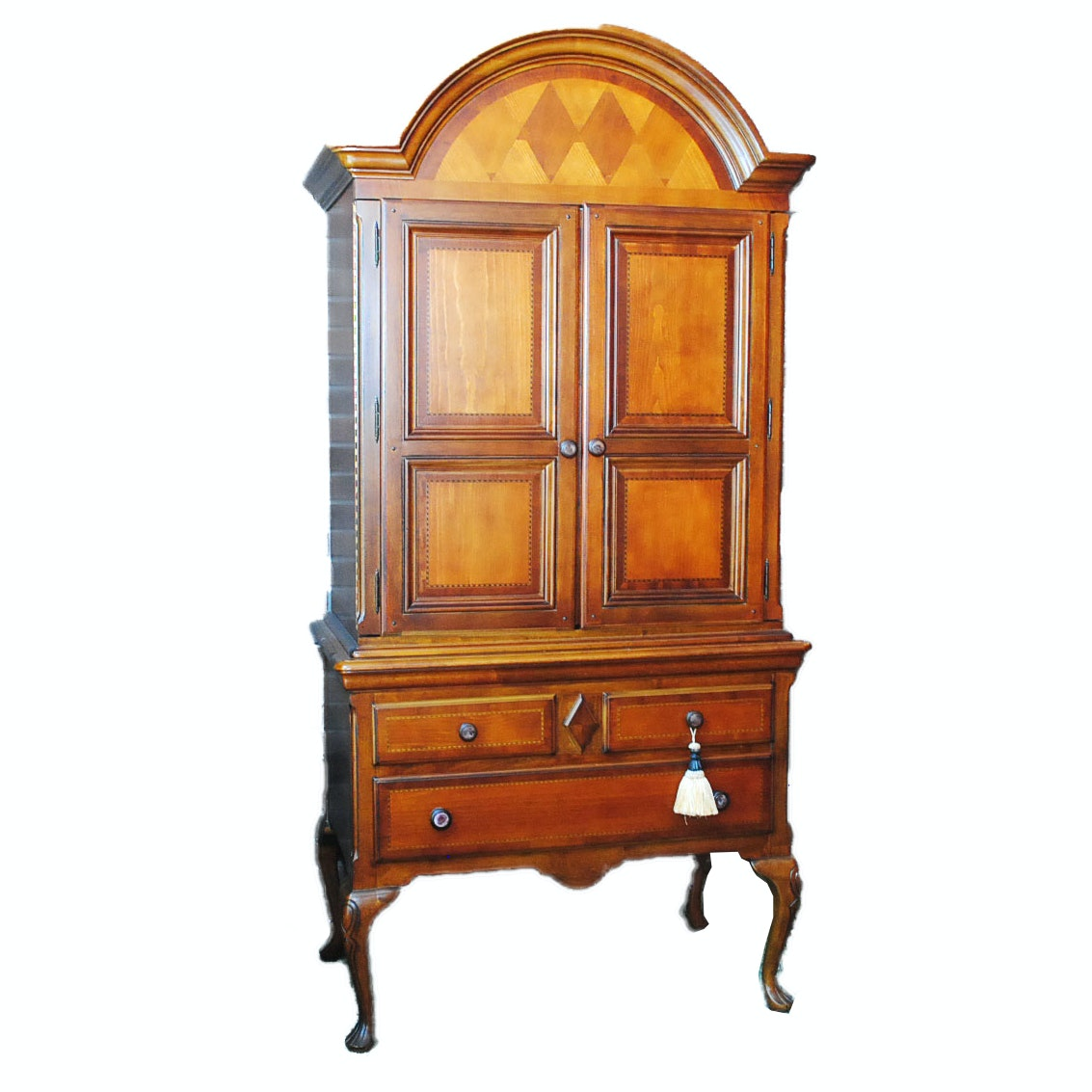 Queen Anne Style Armoire by Alexander Julian