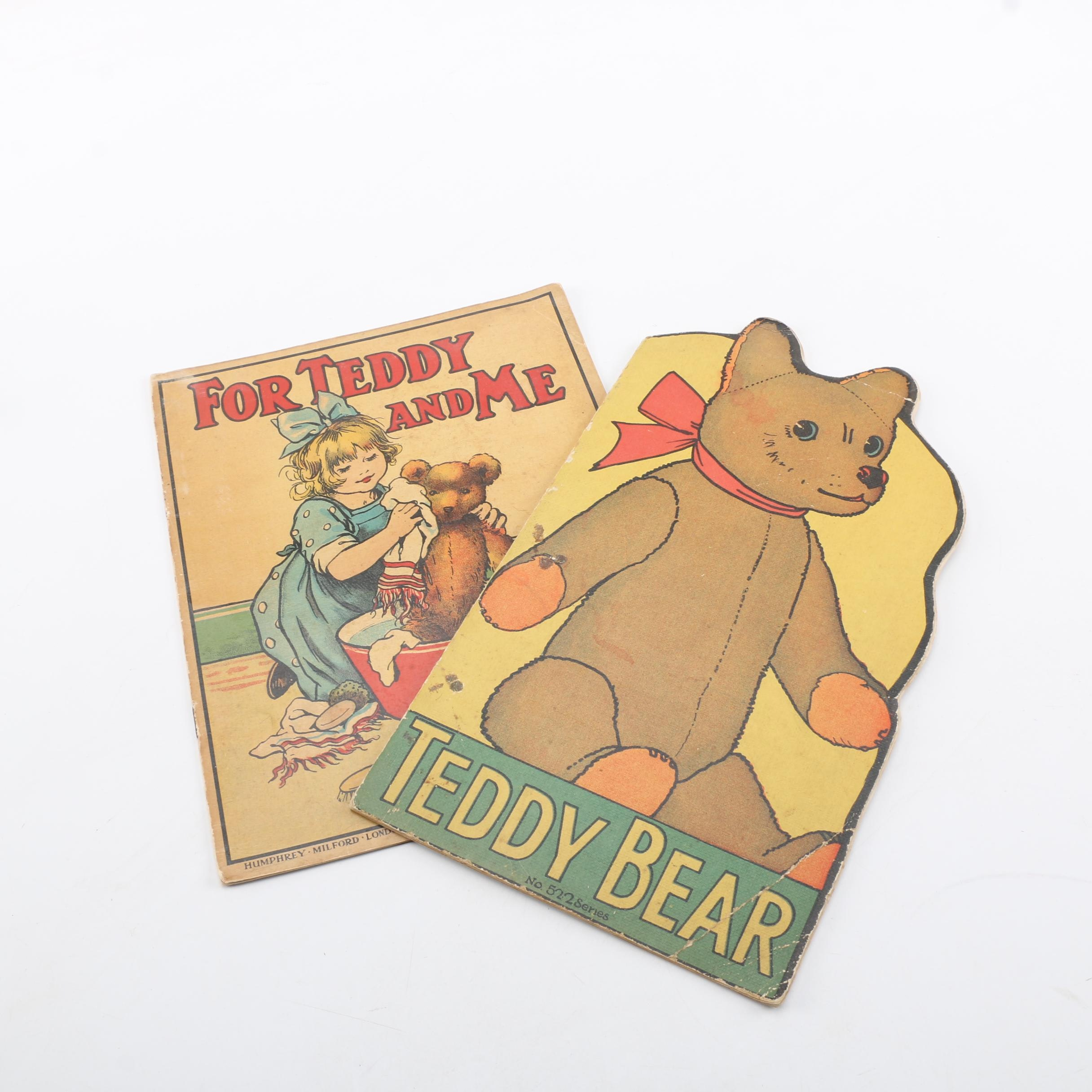 1922 Picture Book with Vintage Children's Book.