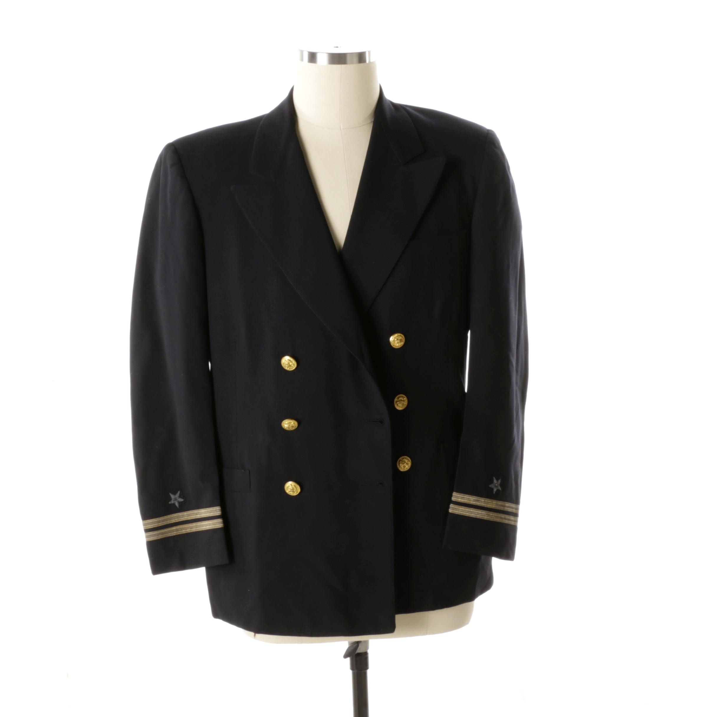 Men's U.S. Navy Service Dress Blue Coat