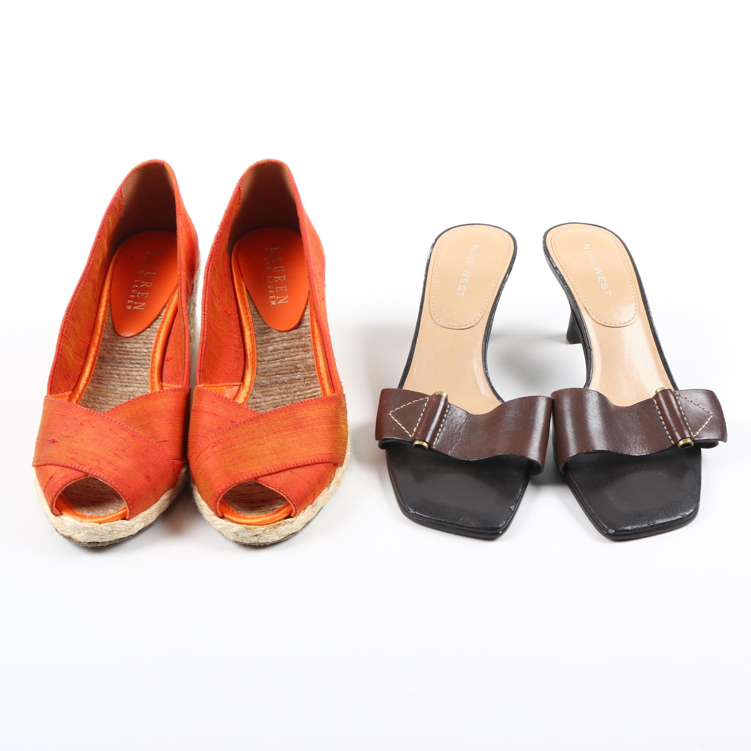Nine West and LAUREN Ralph Lauren Shoes