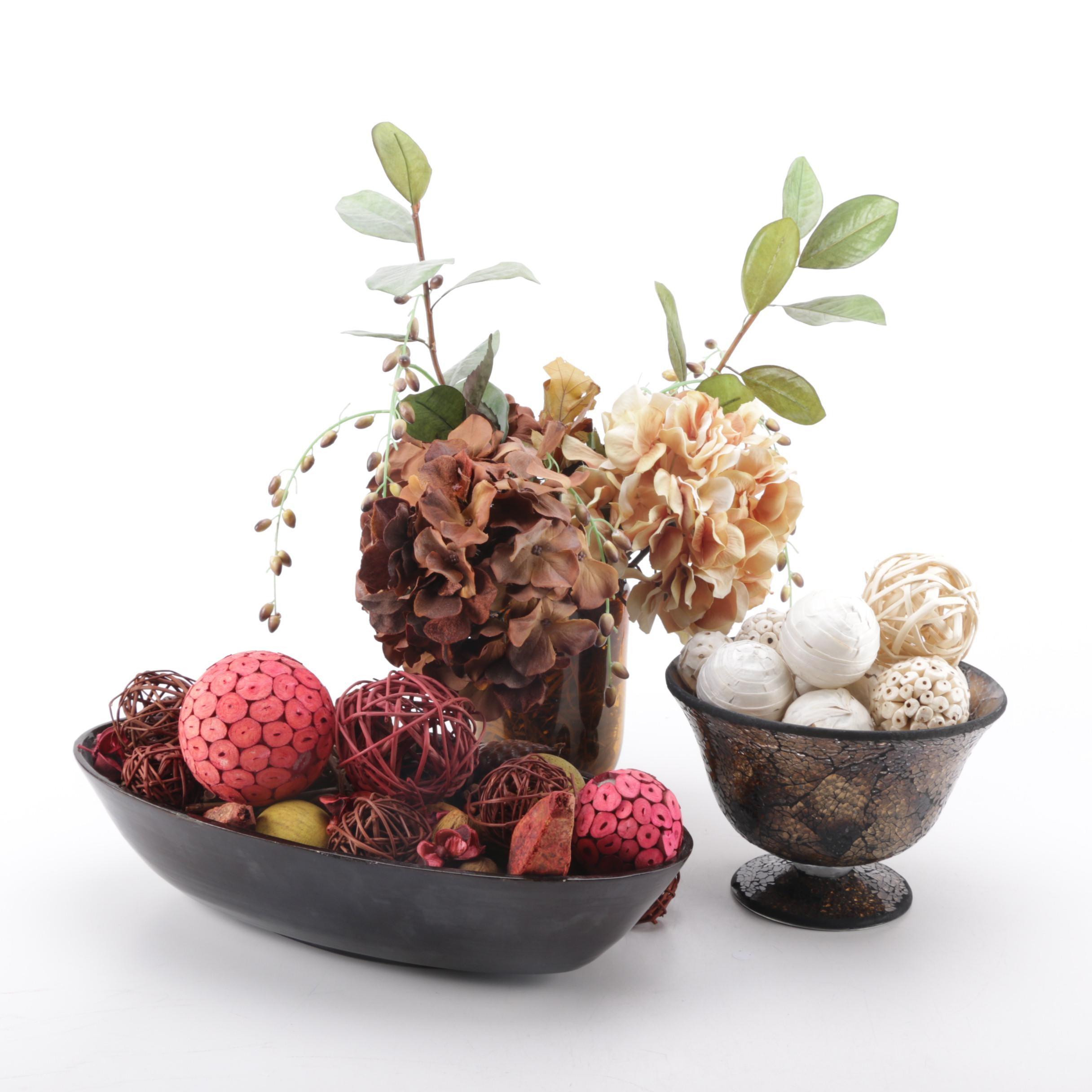 Decorative Floral Decor Centerpieces