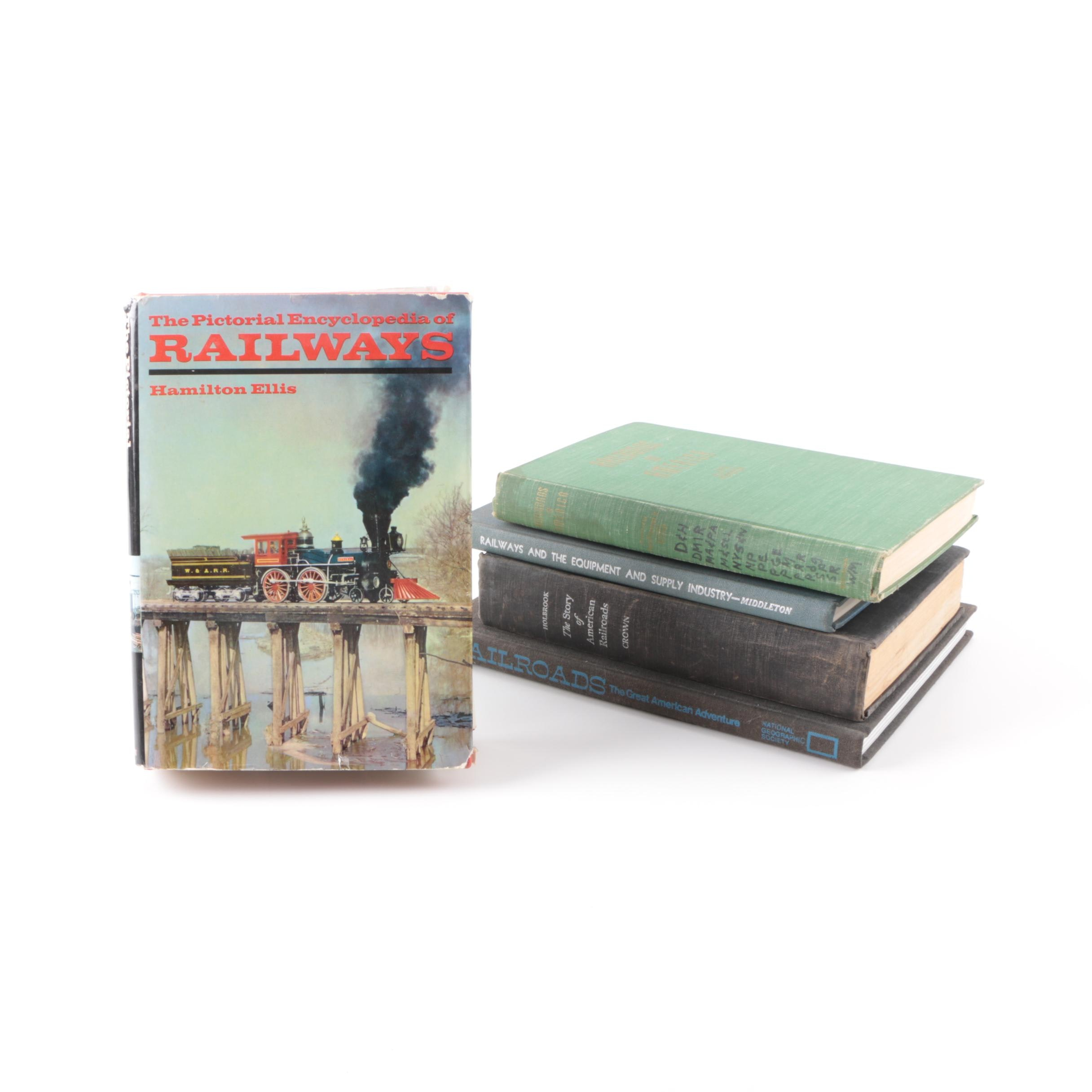 Books on American Railways featuring National Geographic Society