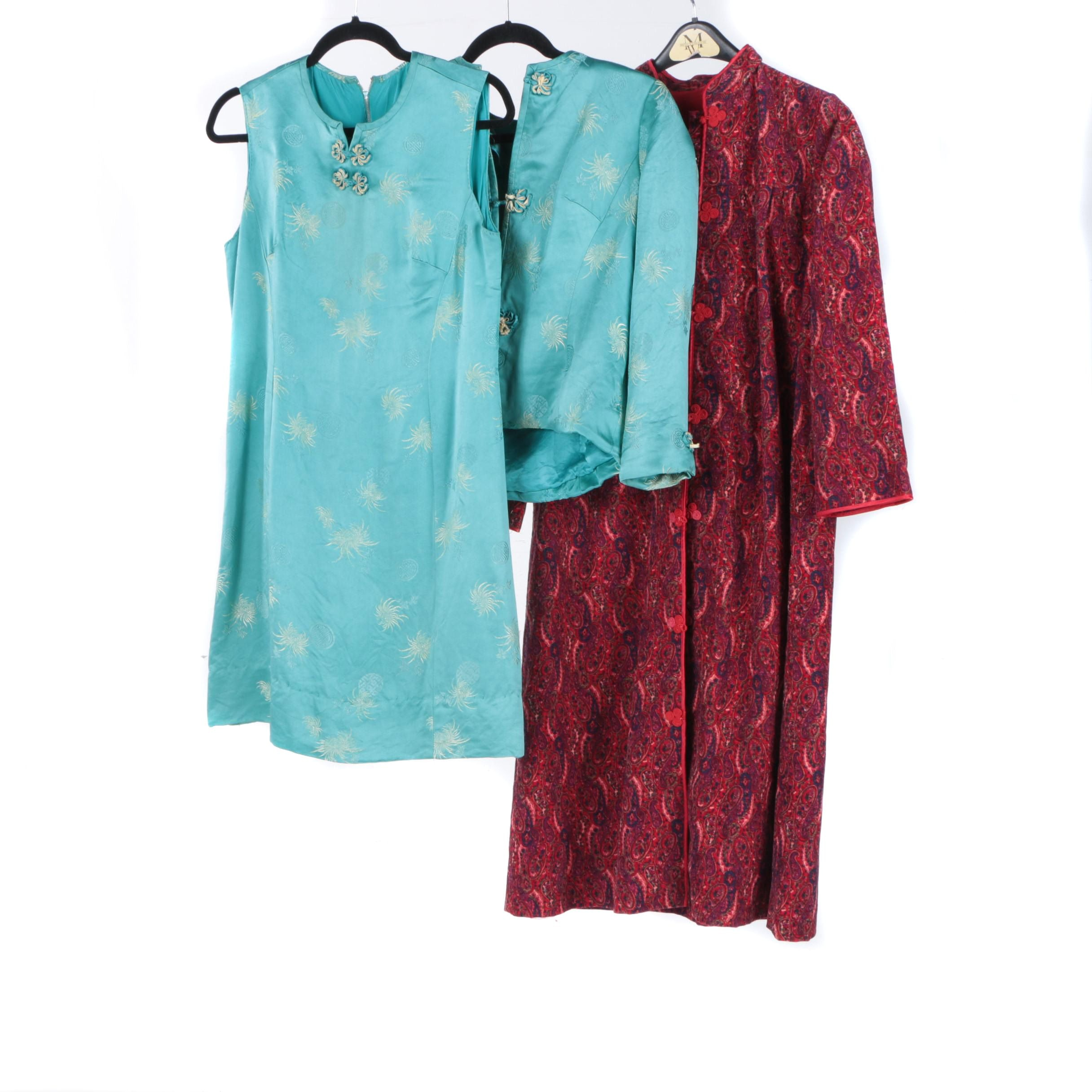 Women's Vintage Asian Inspired Clothing
