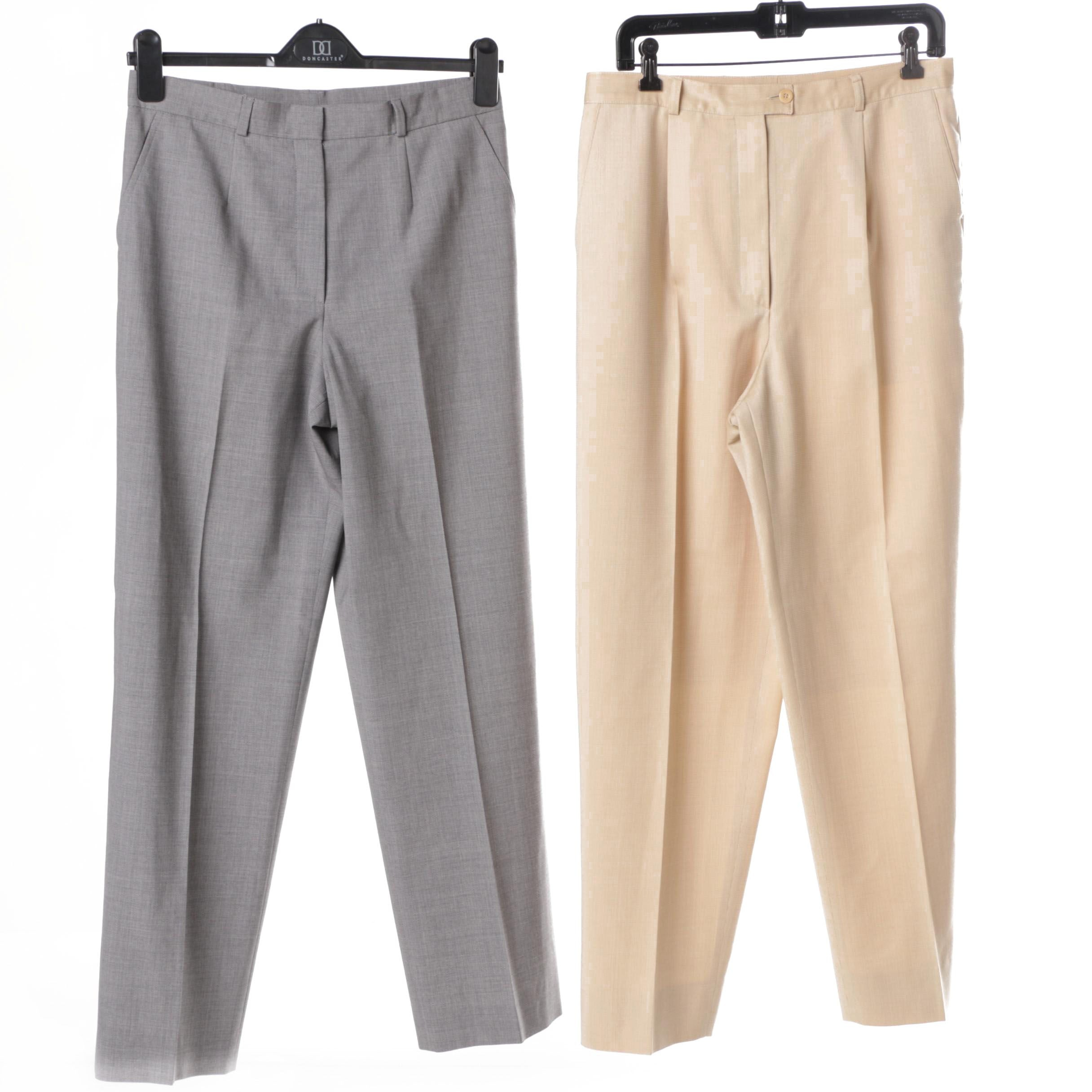 Two Pairs of Women's Trousers by Zanella