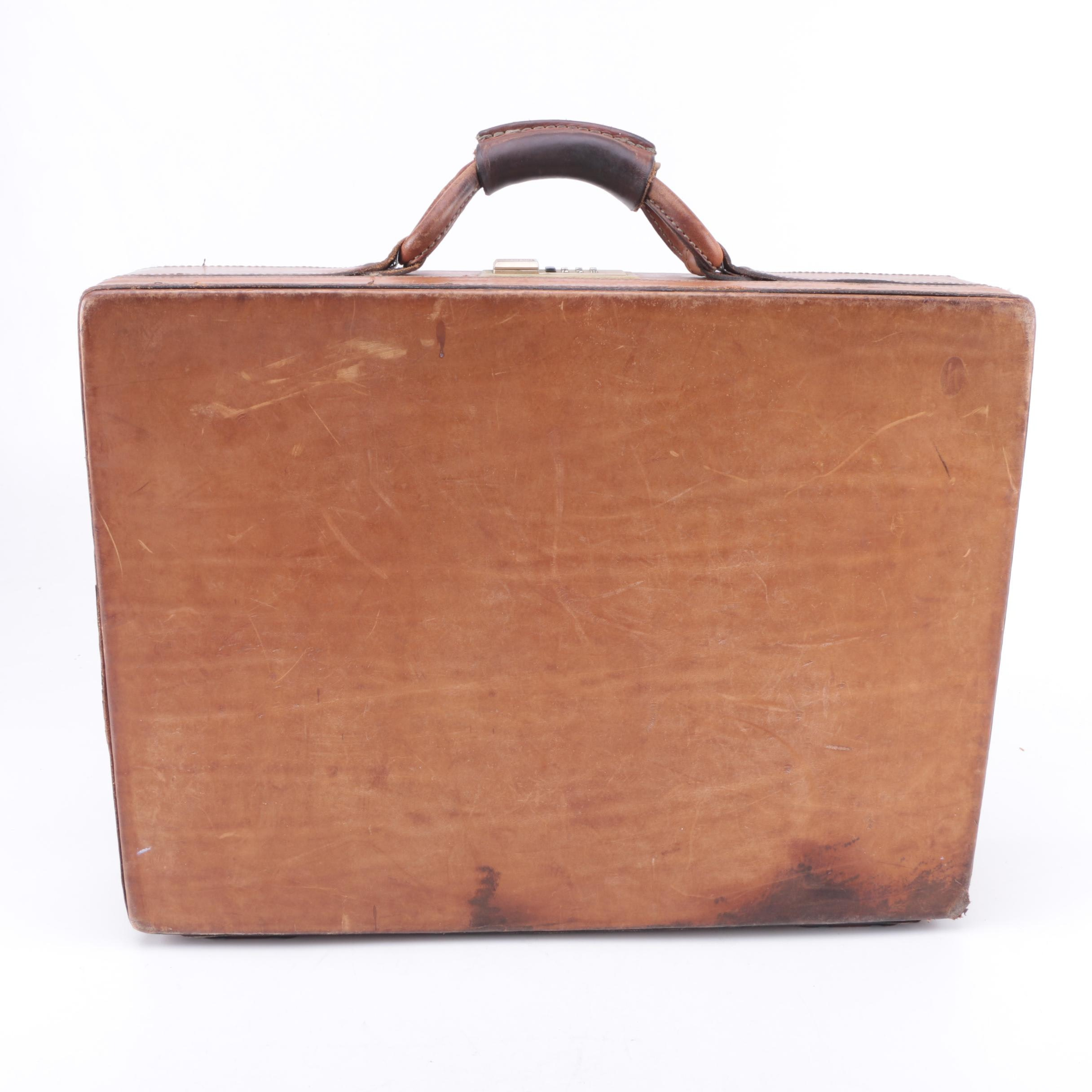 Vintage Hartmann Leather Briefcase