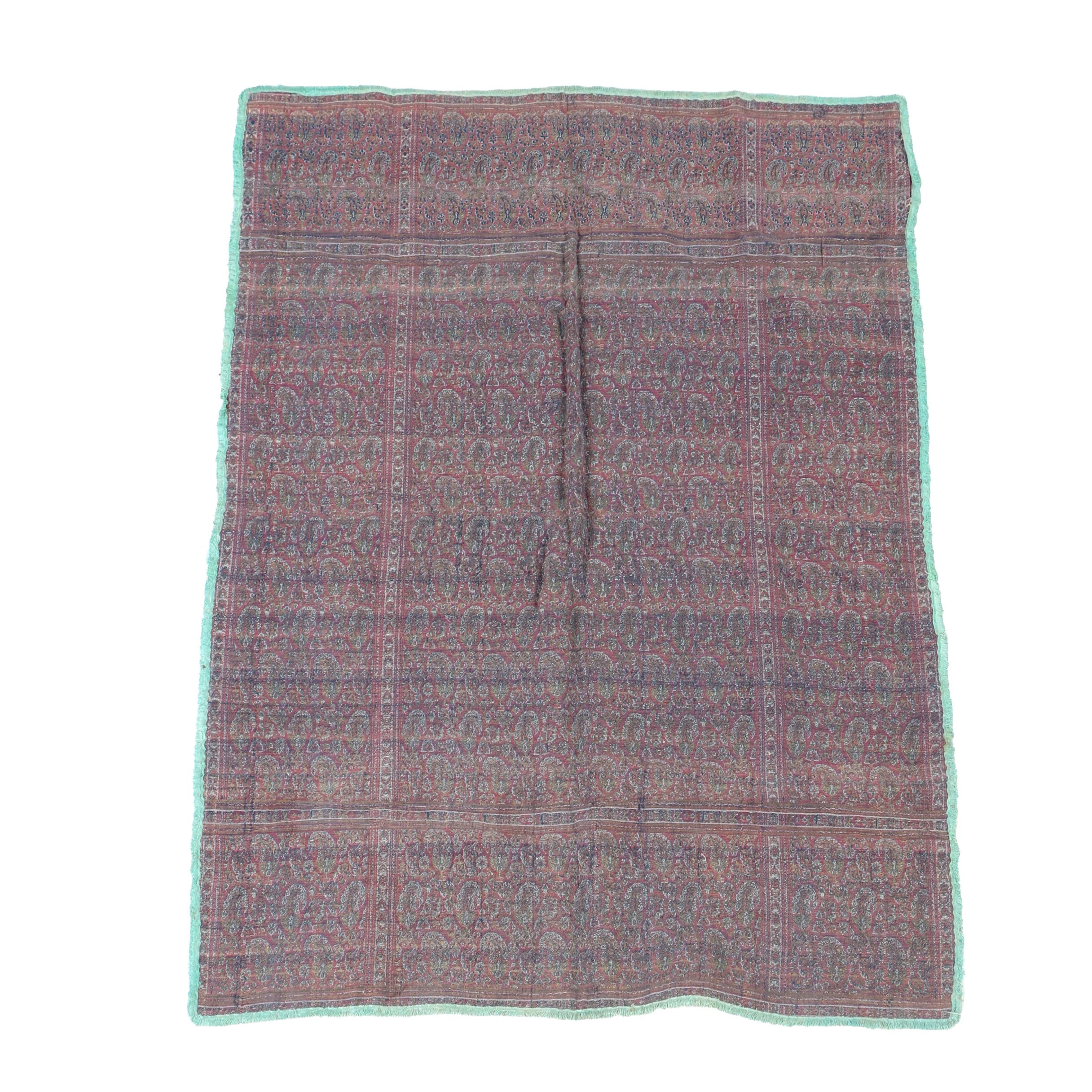 Hand-Knotted Tunisian Wool Accent Rug