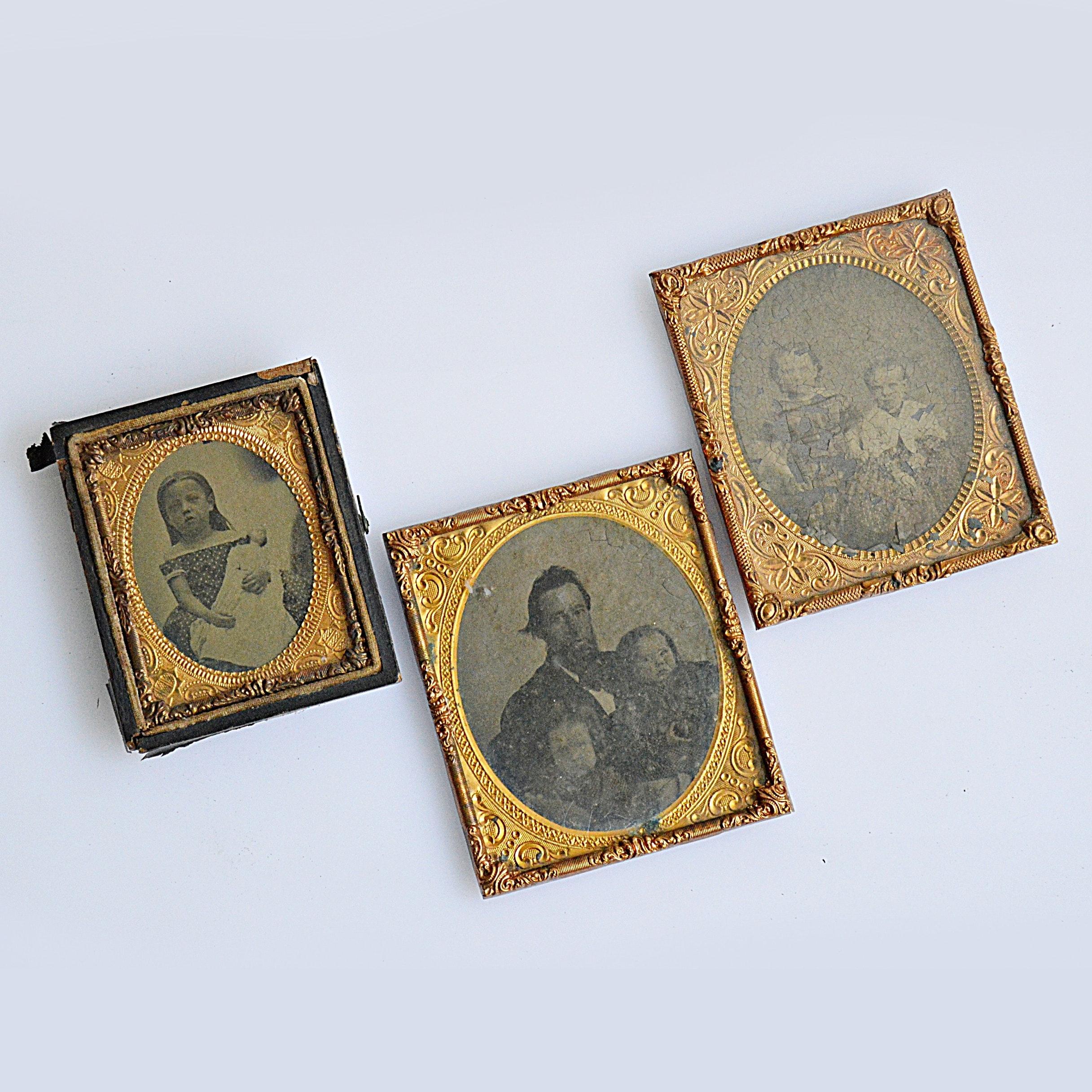 19th Century Tintype Photographs